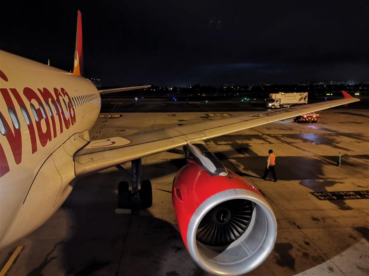 Re:[原创]终于有时间歇下来,可以总结一下2019年飞游记了,第五段,最疯狂的飞行,十二天内十二飞,五万公里穿越亚、欧、美,去往地球另一端拉美世界的第二次环球飞行! AIRBUS A320-200 N538AV 哥伦比亚波哥大埃尔多拉多国际机场