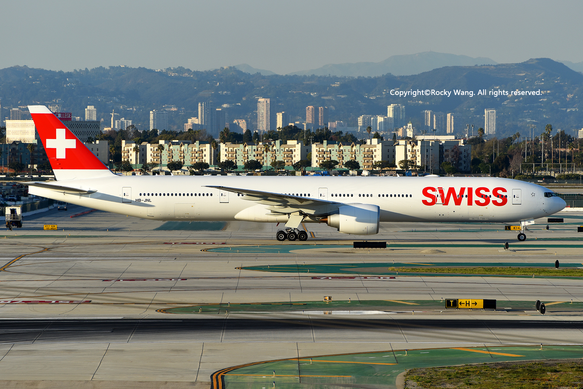 Re:[原创]居家了 批量处理老图 倾情奉献52家777 BOEING 777-3DEER HB-JNL Los Angeles Int'l Airport