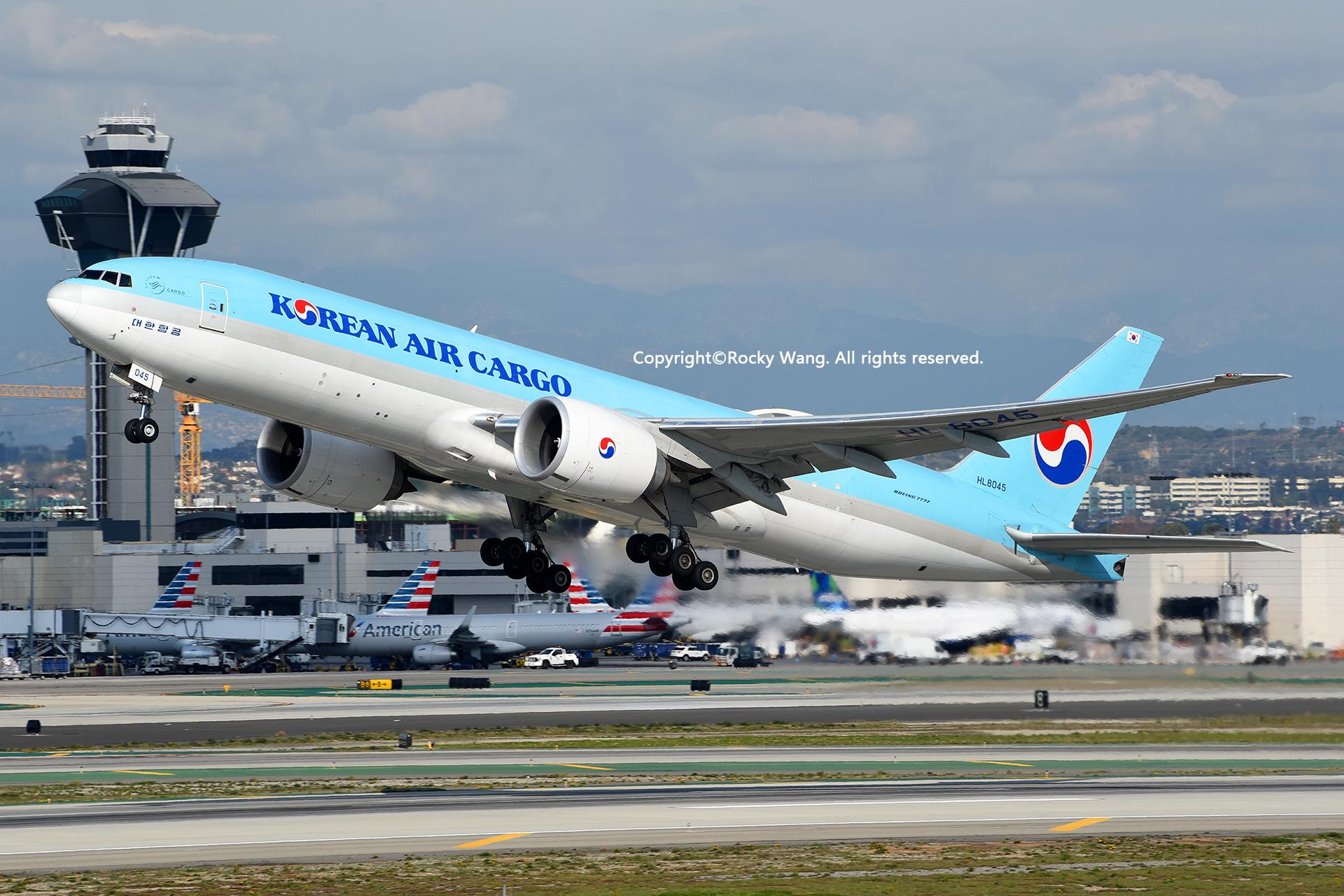 Re:[原创]居家了 批量处理老图 倾情奉献52家777 BOEING 777-FB5 HL8045 Los Angeles Int'l Airport