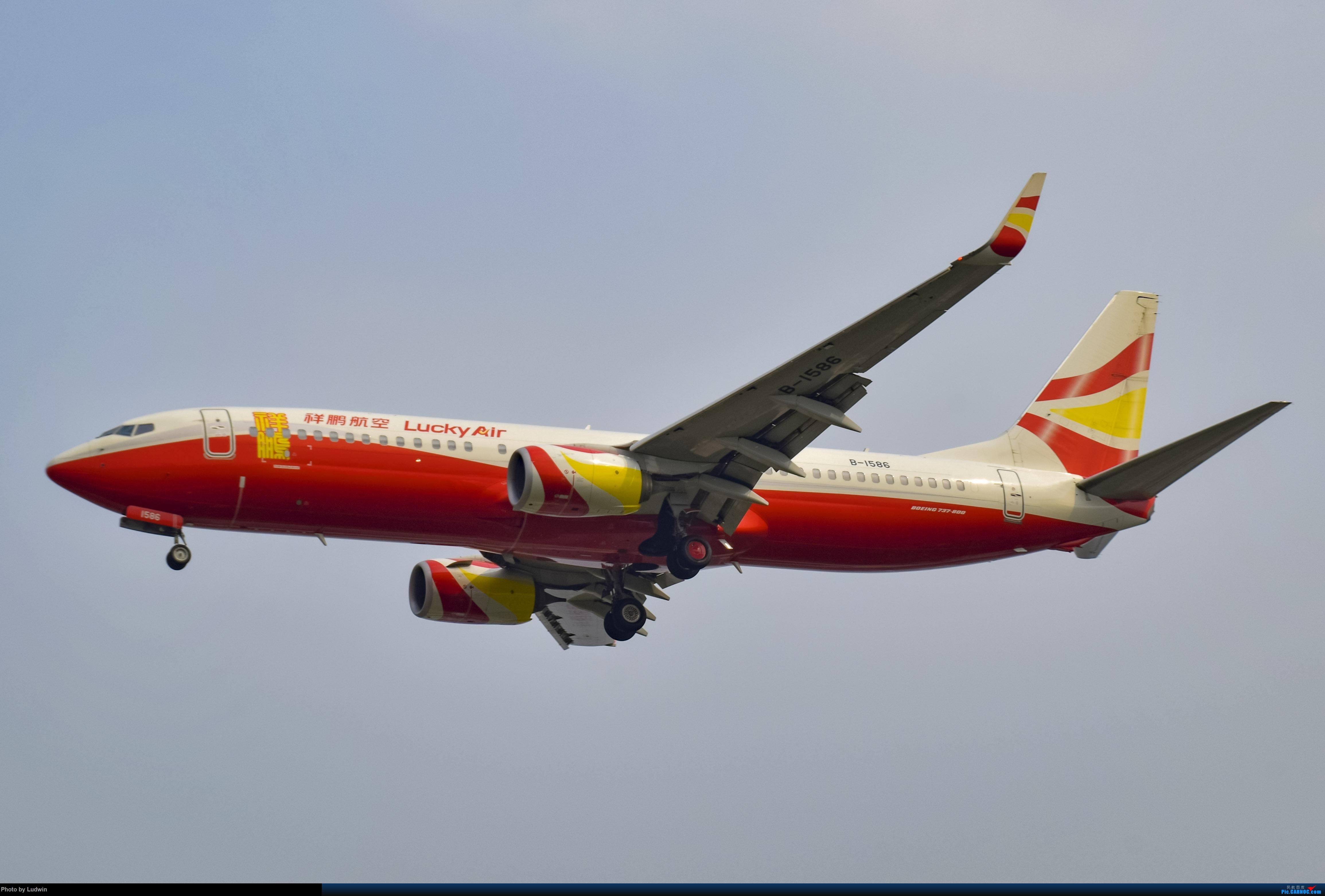 Re:[原创]没有地景系列 BOEING 737-800 B-1586 中国重庆江北国际机场