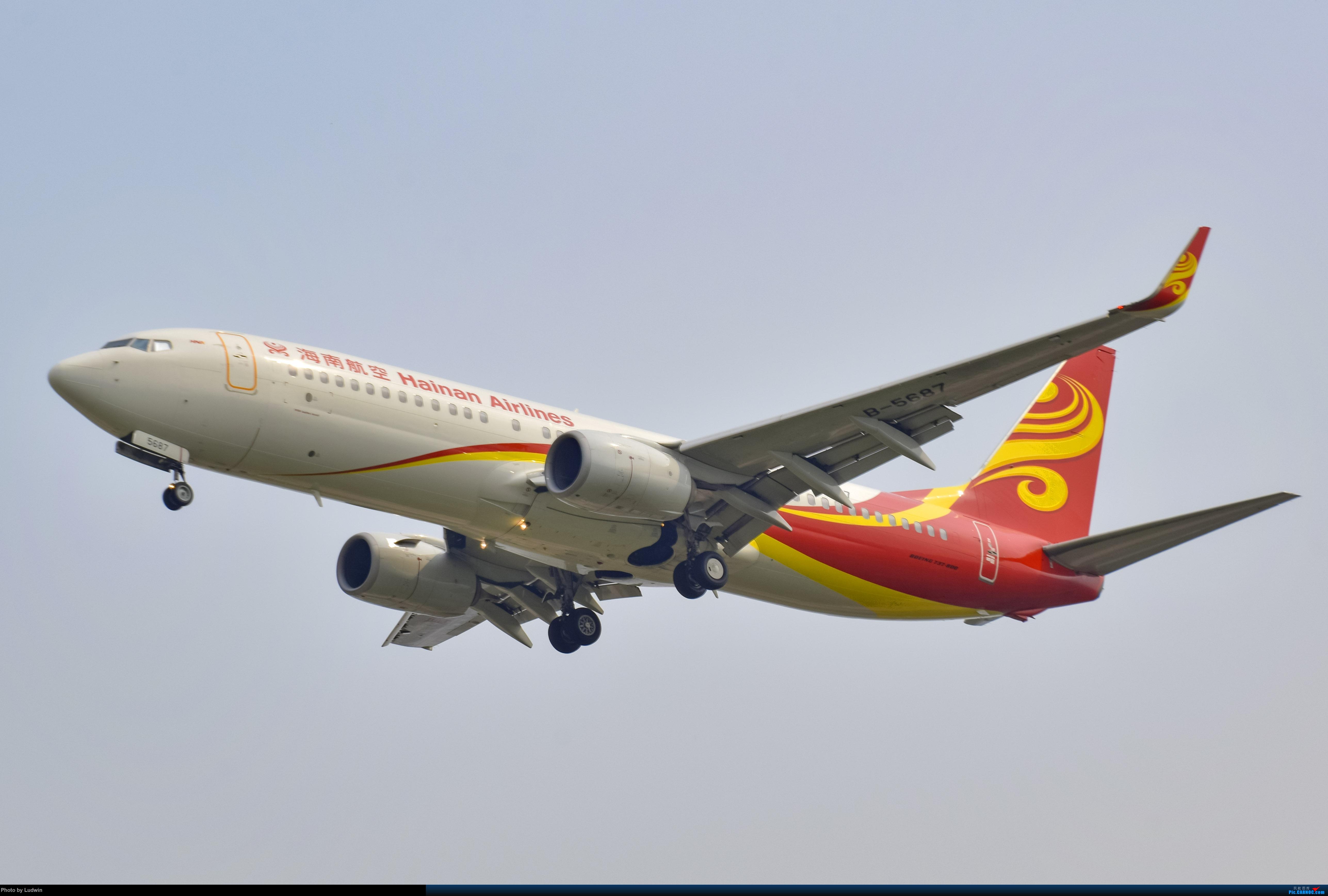 Re:[原创]没有地景系列 BOEING 737-800 B-5687 中国重庆江北国际机场