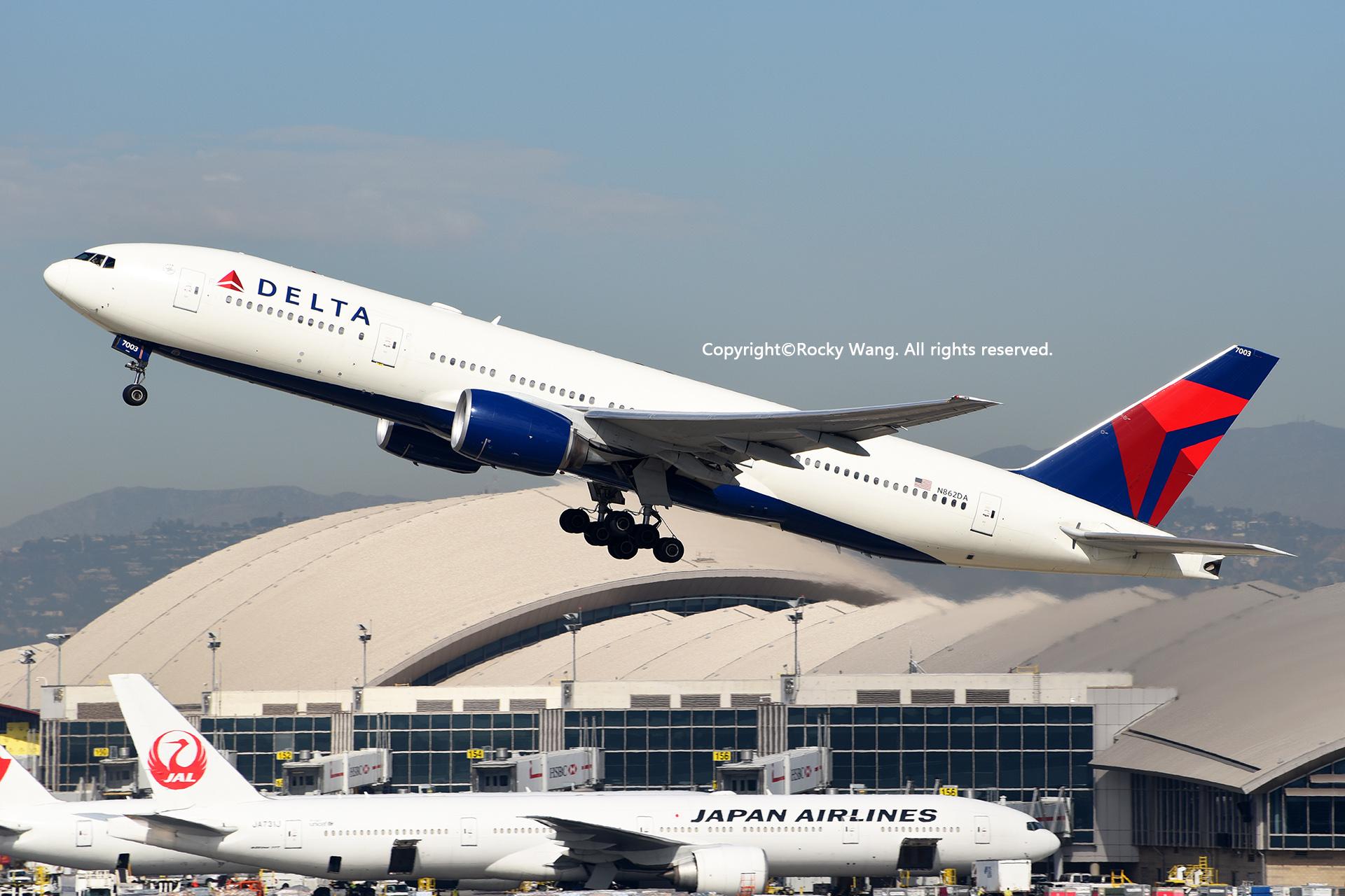 Re:[原创]居家了 批量处理老图 倾情奉献52家777 BOEING 777-232(ER) N862DA Los Angeles Int'l Airport