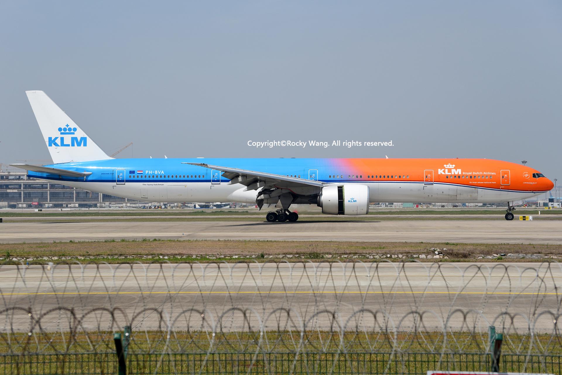 Re:[原创]居家了 批量处理老图 倾情奉献52家777 BOEING 777-306ER PH-BVA Shanghai Pudong