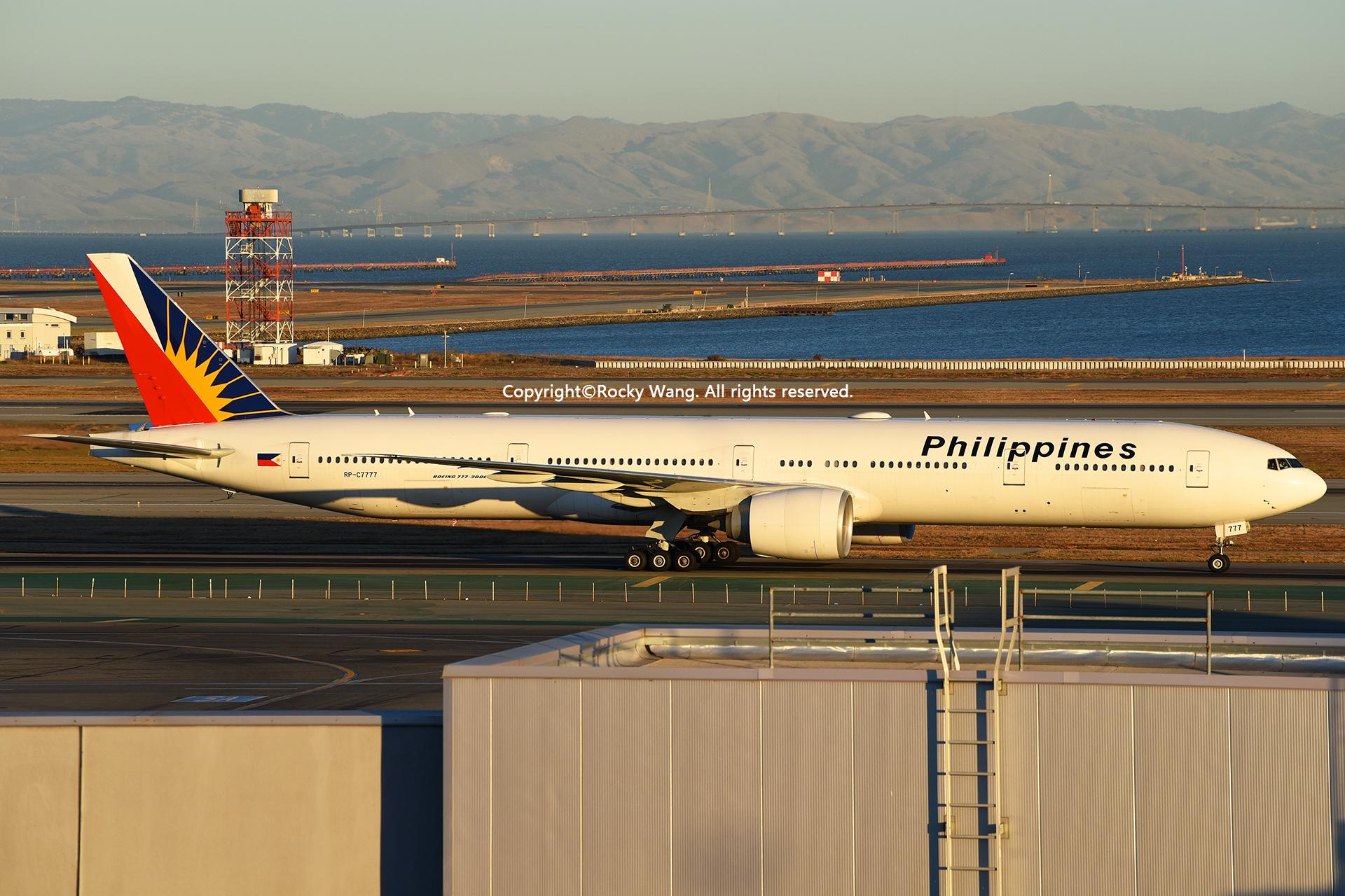 Re:[原创]居家了 批量处理老图 倾情奉献52家777 BOEING 777-36NER RP-C7777 San Francisco Int'l Airport