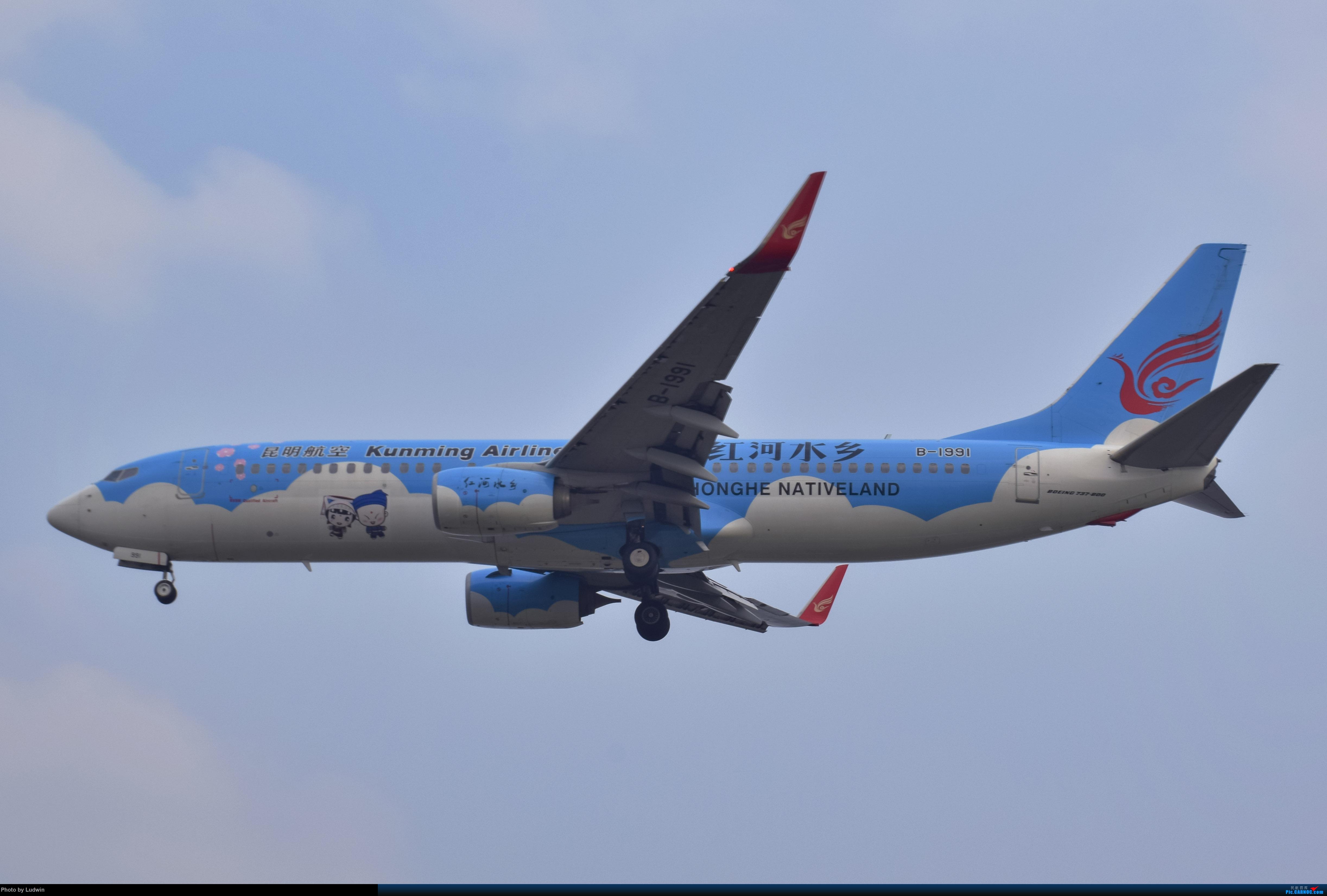Re:[原创]没有地景系列 BOEING 737-800 B-1991 中国重庆江北国际机场