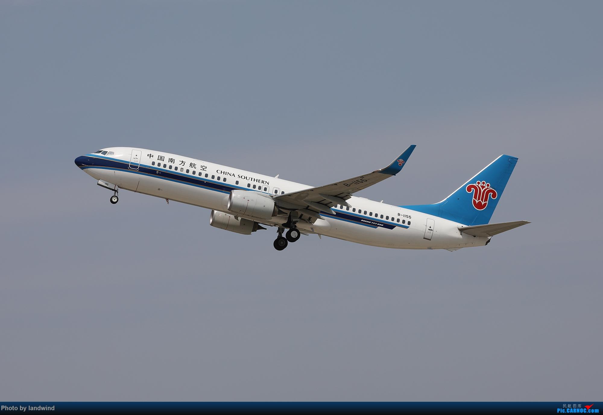 [原创]NKG南京禄口机场10图 BOEING 737-800 B-1155 中国南京禄口国际机场