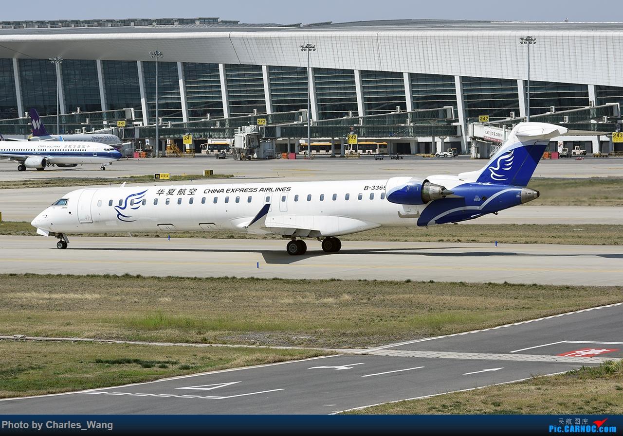 Re:[原创]郑州机场长鹰路机位周末拍机 BOMBARDIER CRJ900NG B-3369 中国郑州新郑国际机场