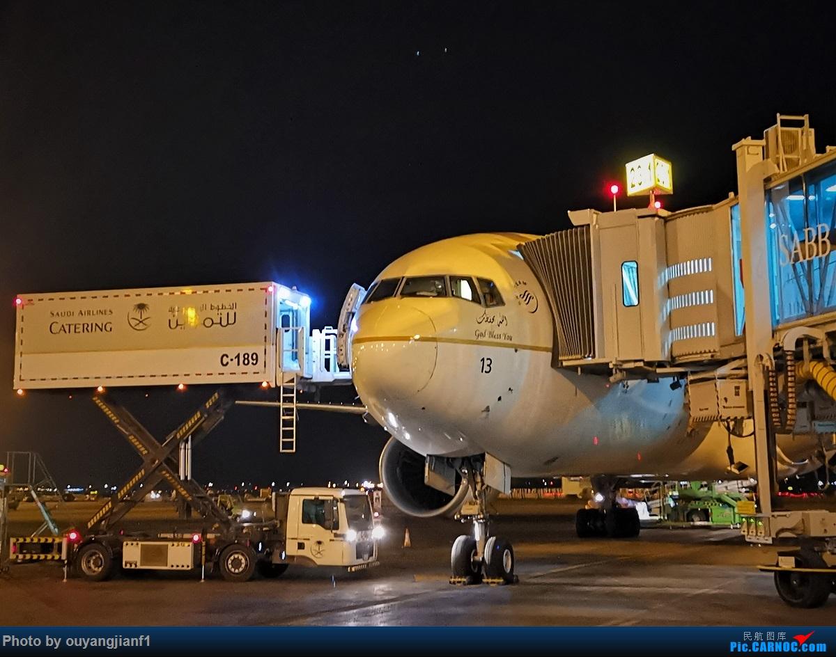 Re:[原创]终于有时间歇下来,可以好好总结一下2019年飞行游记了,第五段:一周之内的中东非洲之行,体验真土豪科威特航空,奇葩航沙特航空,动荡之下造访埃塞俄比亚航空总部! BOEING 777-300ER HZ-AK13 沙特阿拉伯哈立德国王机场