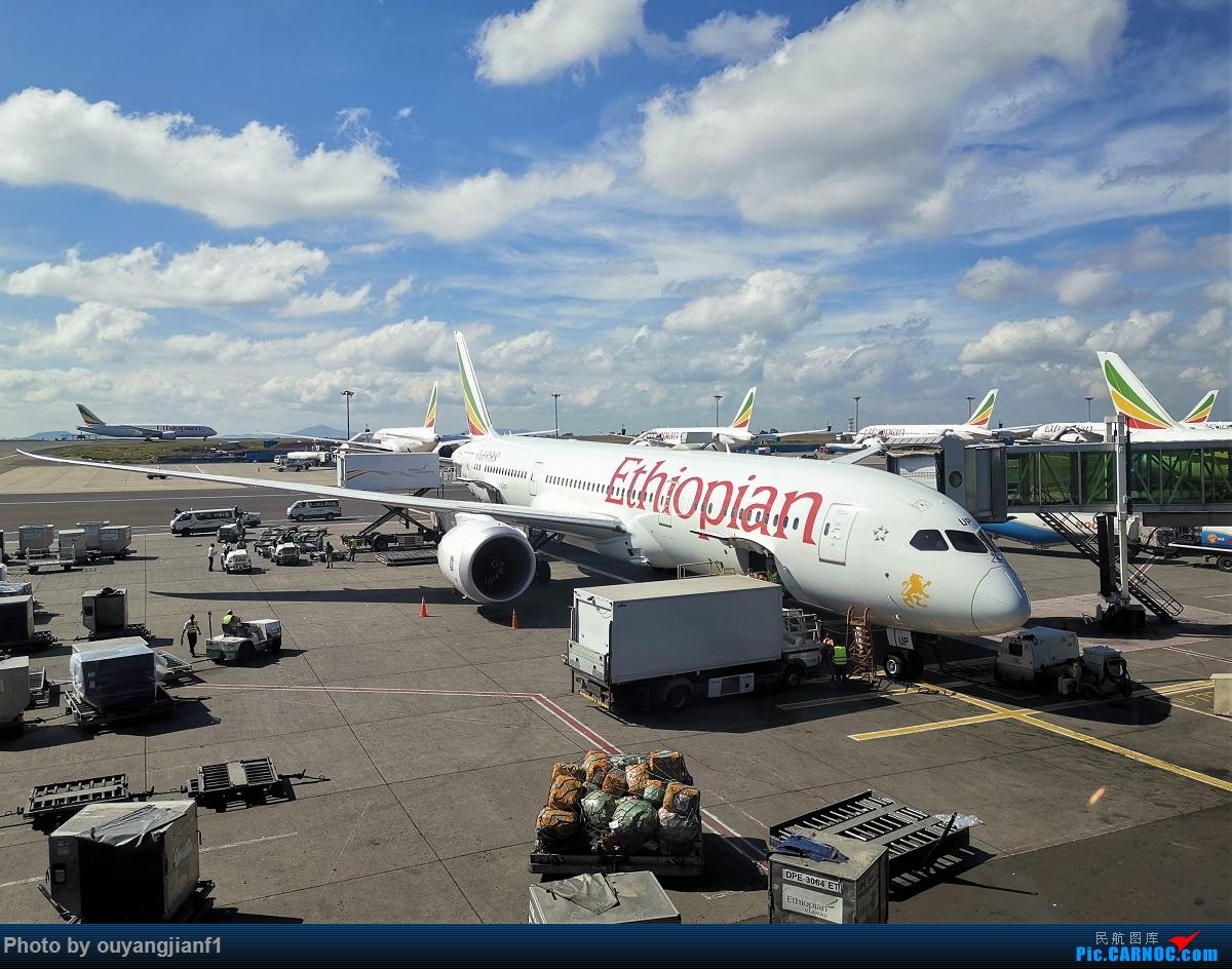 Re:[原创]终于有时间歇下来,可以好好总结一下2019年飞行游记了,第五段:一周之内的中东非洲之行,体验真土豪科威特航空,奇葩航沙特航空,动荡之下造访埃塞俄比亚航空总部! BOEING 787-9 ET-AUP 埃塞俄比亚亚的斯亚贝巴博莱机场