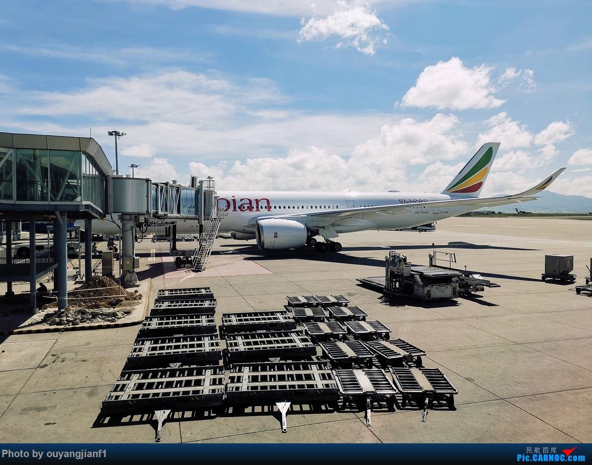 Re:[原创]终于有时间歇下来,可以好好总结一下2019年飞行游记了,第五段:一周之内的中东非洲之行,体验真土豪科威特航空,奇葩航沙特航空,动荡之下造访埃塞俄比亚航空总部! AIRBUS A350-900 ET-AWO 埃塞俄比亚亚的斯亚贝巴博莱机场