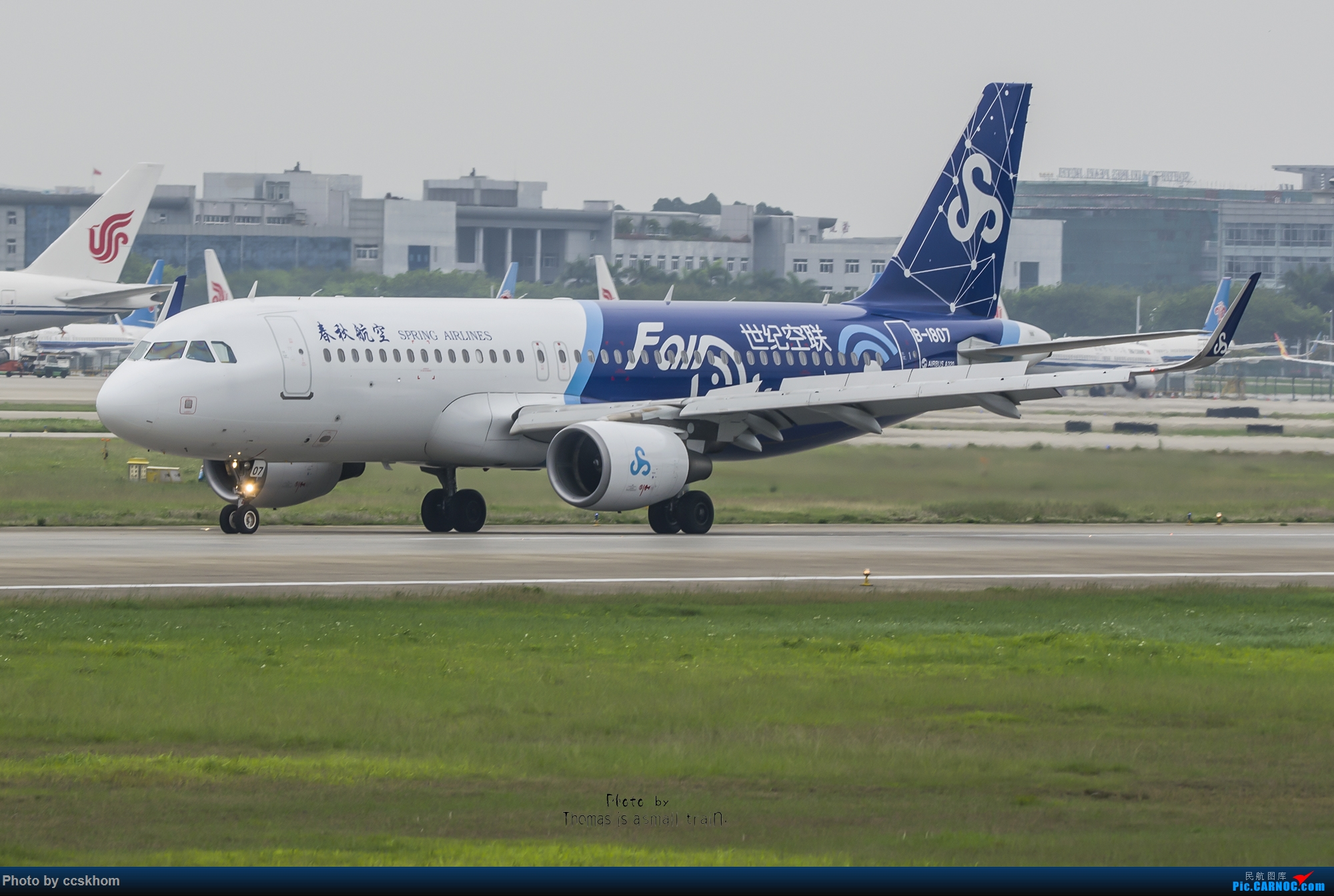Re:【合肥飞友会.广州打机队】疫情期间的偶遇 AIRBUS A320-200 B-1807 中国广州白云国际机场