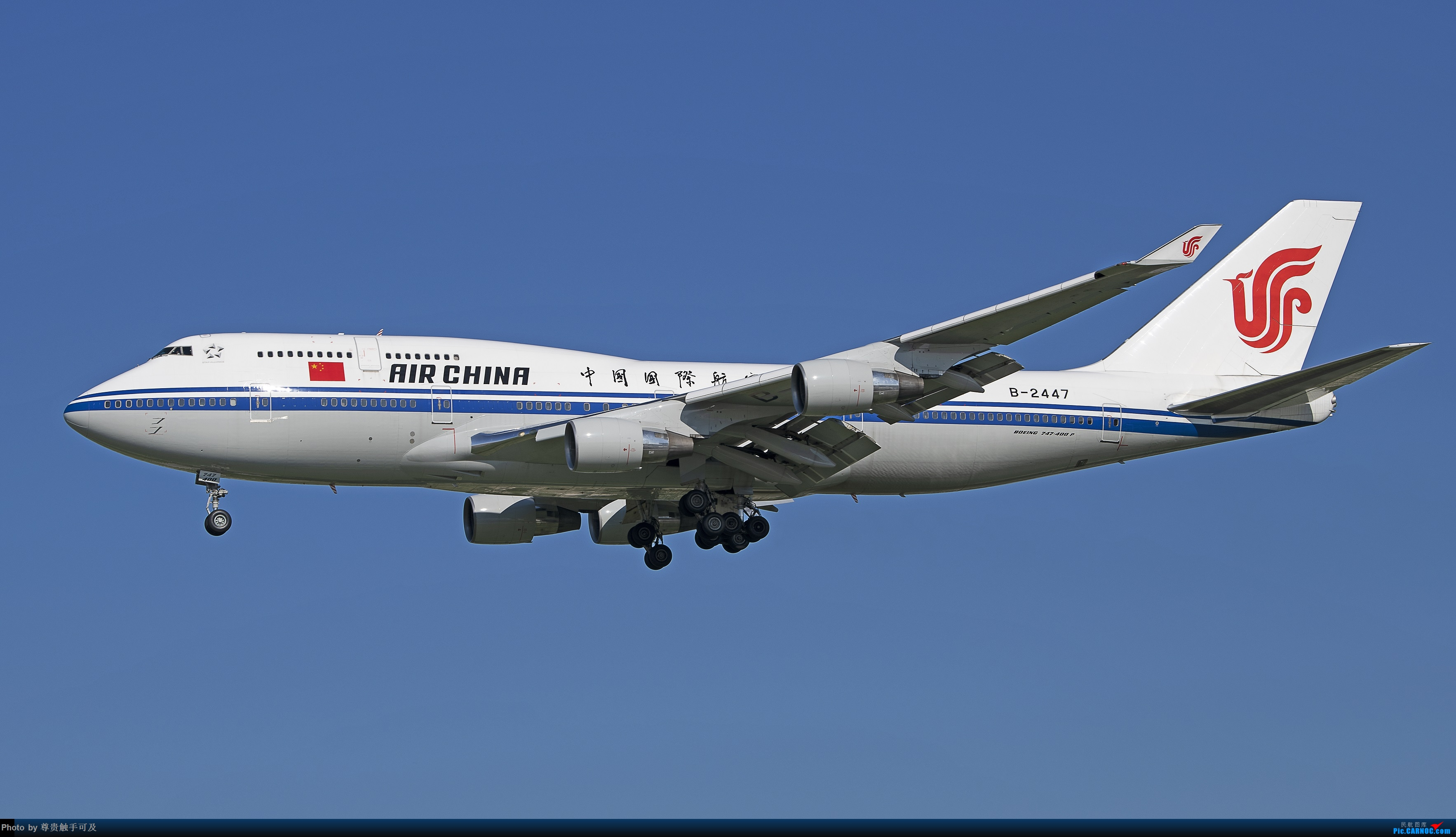 Re:继380后,再晒晒747,都是大家伙! 哈.... BOEING 747-400 B-2447 T3