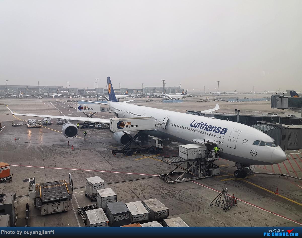 Re:[原创]2020年第一飞,赶在疫情全球蔓延前出去转一圈,看看冰封之下的贝加尔湖,会会老朋友法兰克福,跨过夕阳下的英吉利,感受爱尔兰的擎天柱,在PEK见证疫情之下的停机场 AIRBUS A340-600 D-AIHK 德国法兰克福机场
