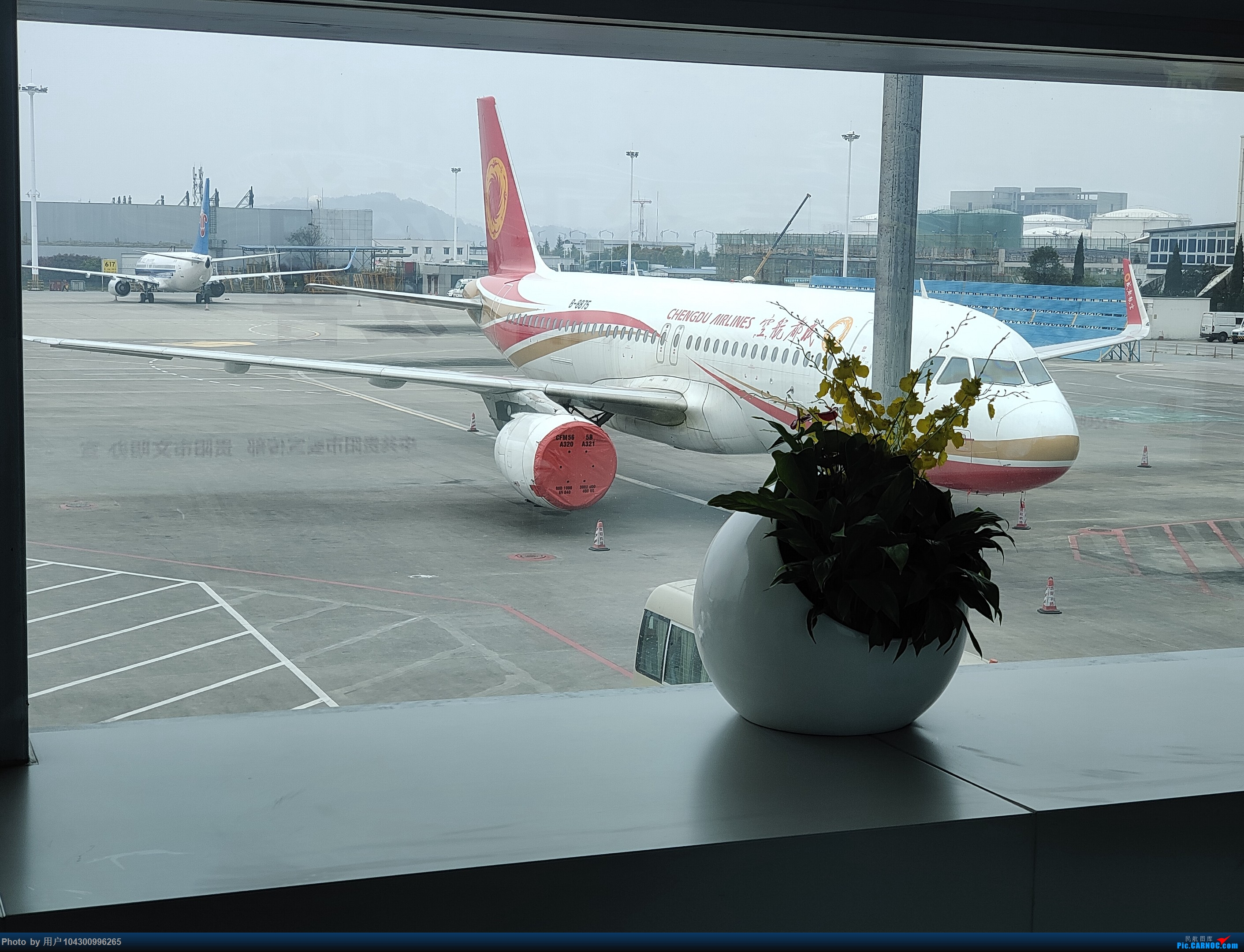 Re:[原创]DM游记之GY贵阳-成都往返(参观空港花田) AIRBUS A320-200 B-8875 中国贵阳龙洞堡国际机场