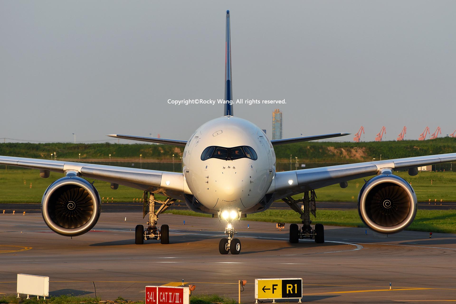 Re:[原创]盗图就别狂 发组表情自己体会 AIRBUS A350-941 N505DN Shanghai Pudong