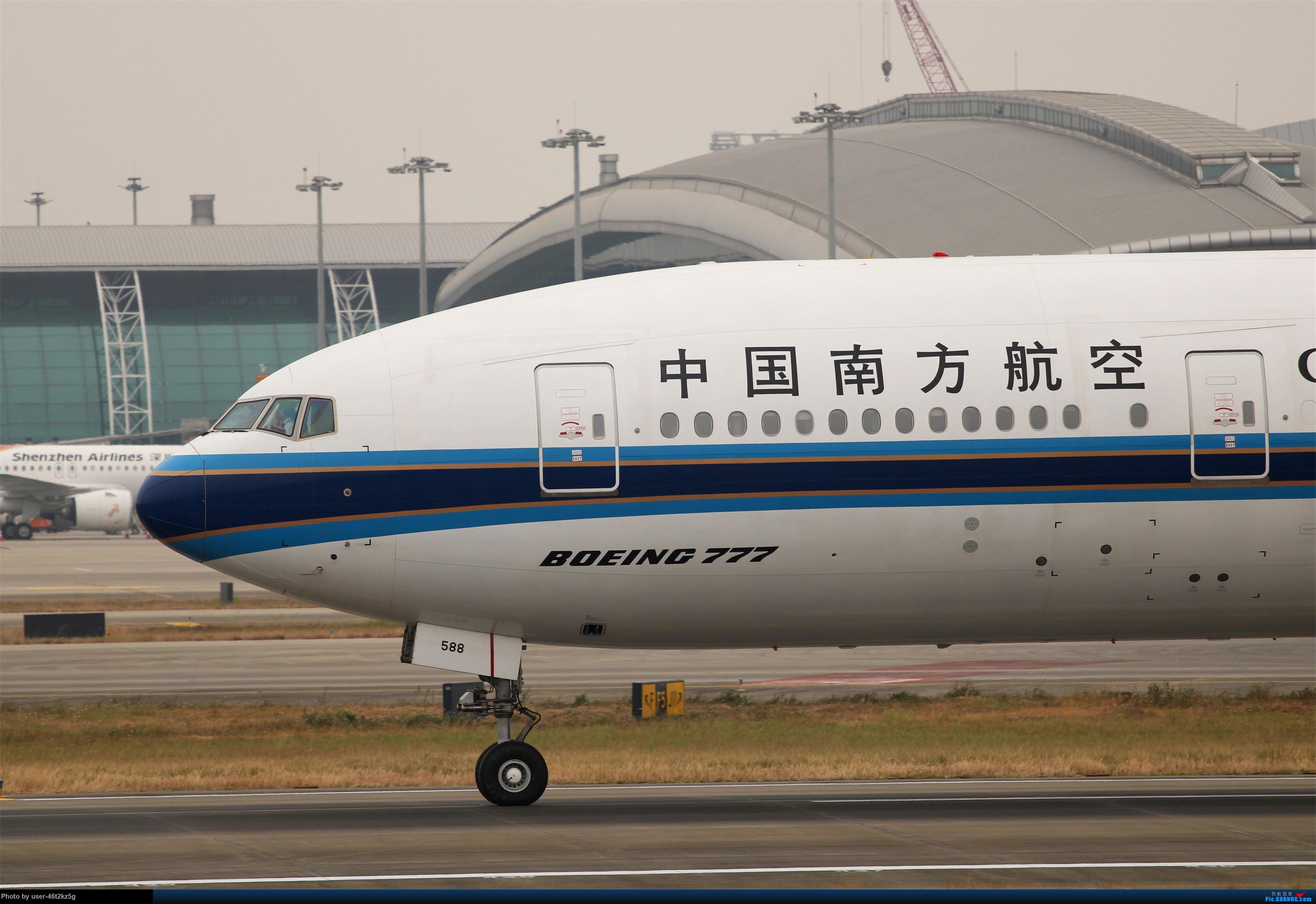 Re:[原创]南航777-300ER BOEING 777-300ER B-7588 中国广州白云国际机场