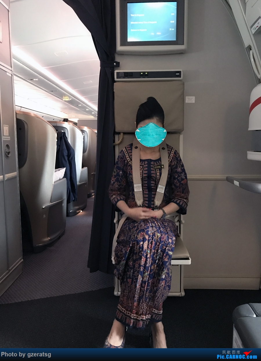 Re:[原创]【拖延症患者的飞行游记】有去有回 - 从法兰克福回新加坡,体验体验新加坡航空B77W优选经济舱     空乘