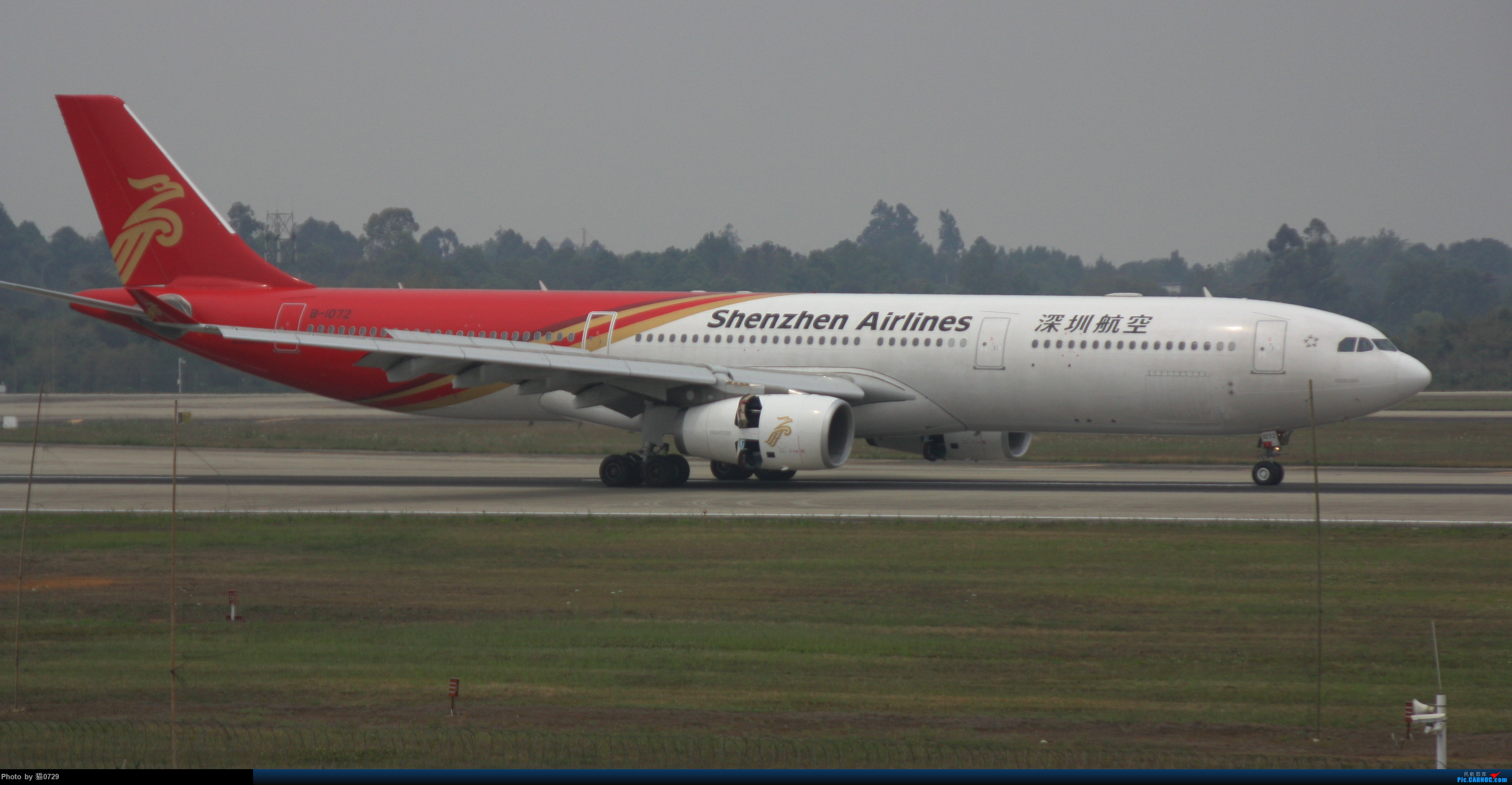 Re:[原创]CTU 119.425 水泥 伊朗346 巴基斯坦777 AIRBUS A330-300 B-1072 中国成都双流国际机场