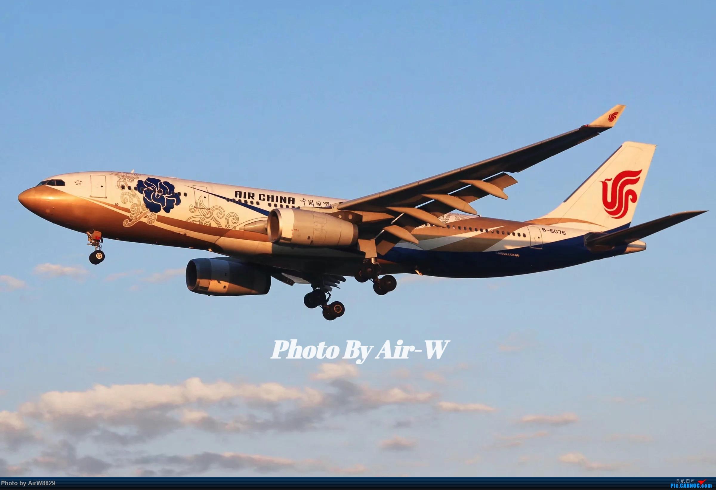[原创]那年五一的国航紫金花 AIRBUS A330-200 B-6076 中国北京首都国际机场