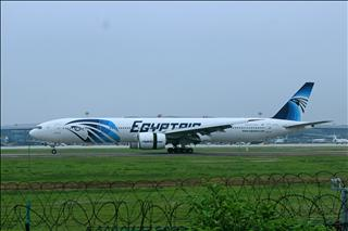 埃及航空B777-300ER首降NGB===發帖留念