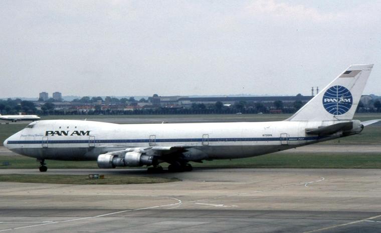 【非原创,侵权必删】转一张已经消失的泛美和741,致敬四发时代 BOEING 747-100 N747PA 美国纽约约翰·菲茨杰拉德·肯尼迪国际机场