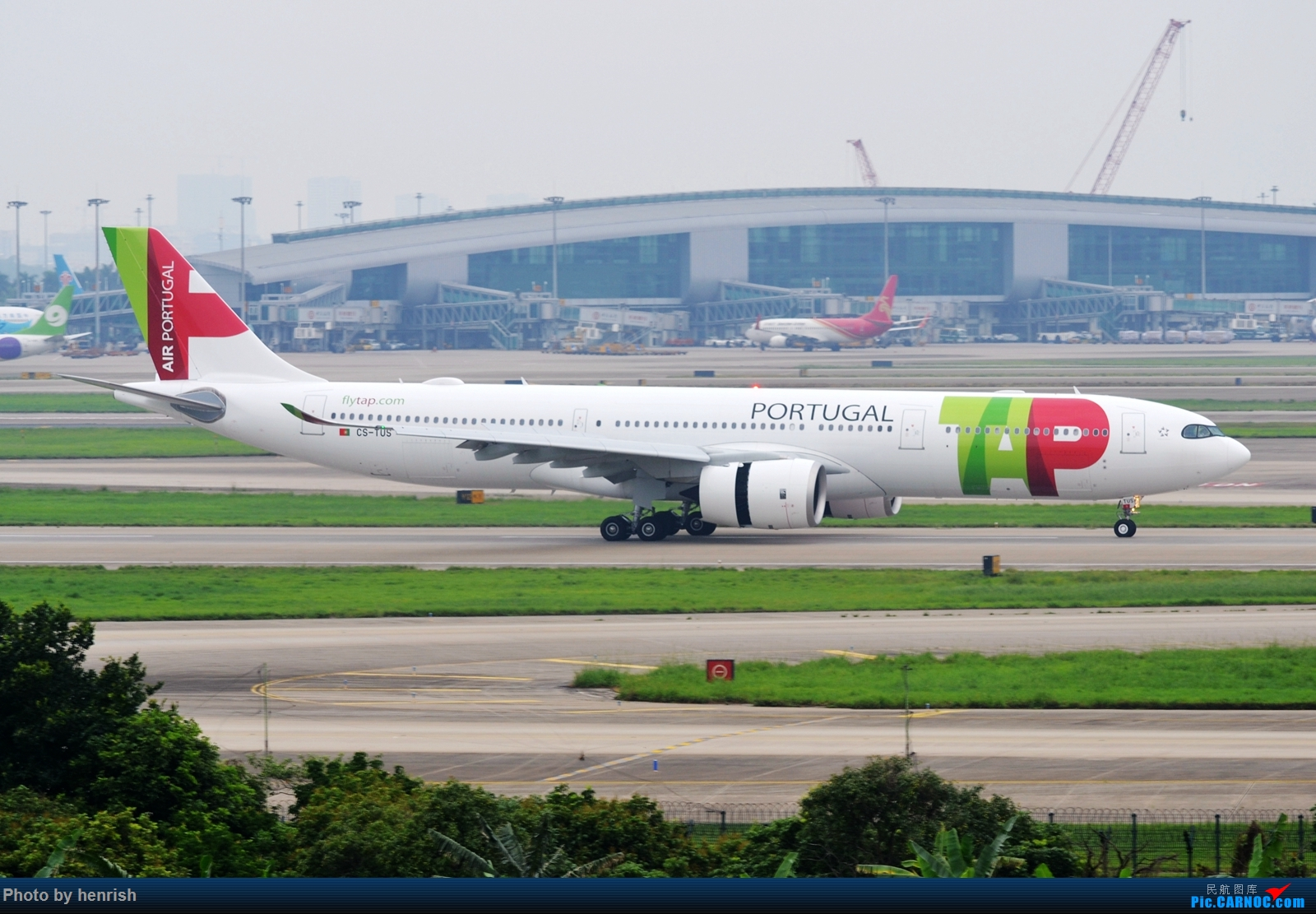 Re:[原创]【肥威的CAN】5月前半,疫情期间广州好货若干。【 广东青少年拍机小队】【广州,你好!】 AIRBUS A330-900 CS-TUS 中国广州白云国际机场
