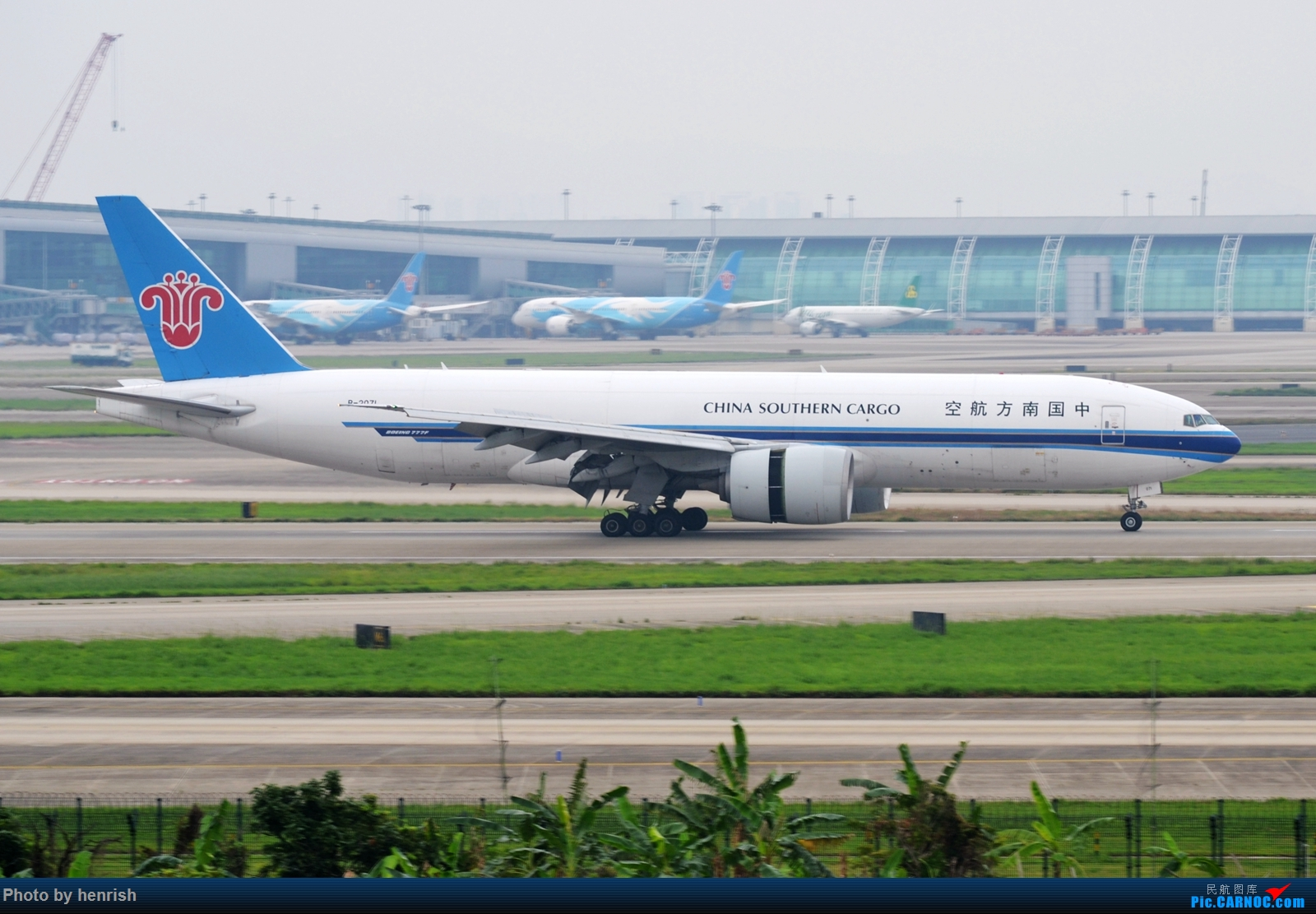 Re:[原创]【肥威的CAN】5月前半,疫情期间广州好货若干。【 广东青少年拍机小队】【广州,你好!】 BOEING 777F B-2071 中国广州白云国际机场