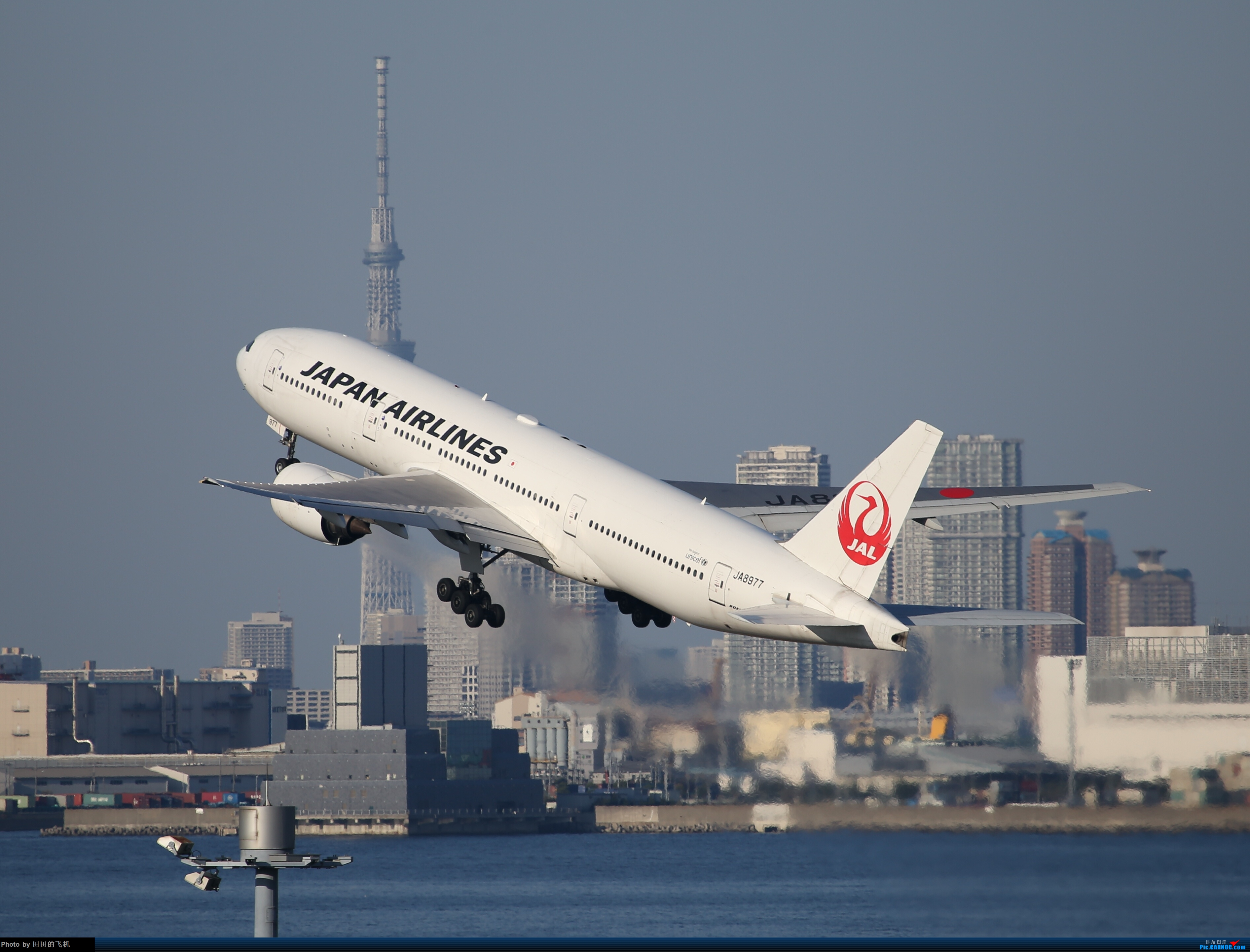 Re:[原创]整理一下去年东京羽田机场拍的飞机 777-200 JA8977 东京羽田机场