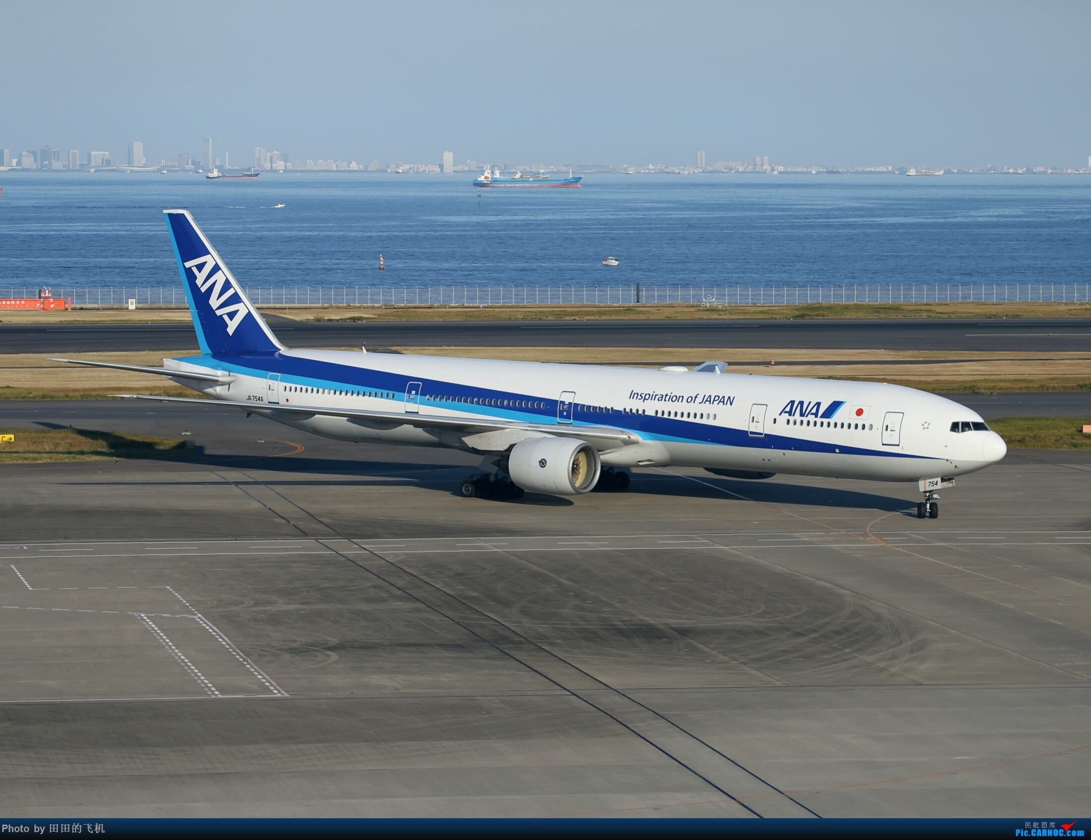 Re:[原创]整理一下去年东京羽田机场拍的飞机 777-300 JA754A 东京羽田机场