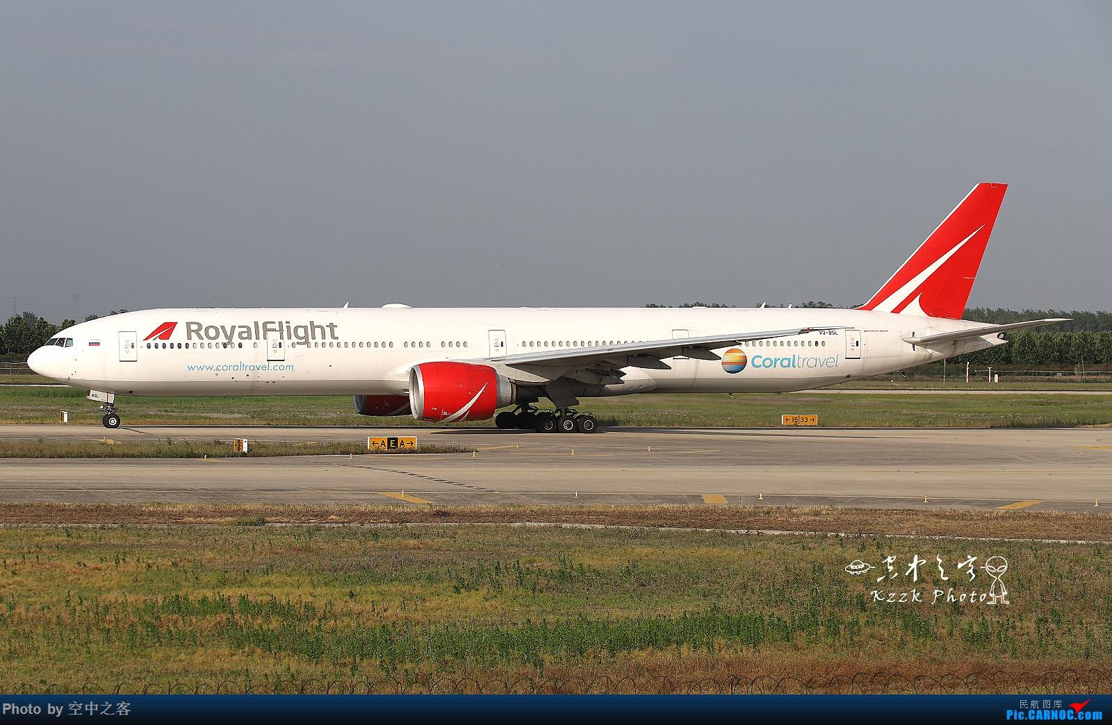 [原创][合肥飞友会·霸都打机队]空与龙爷一起IN桥机场拍大飞机20P BOEING 777-300ER VQ-9GL 合肥新桥国际机场