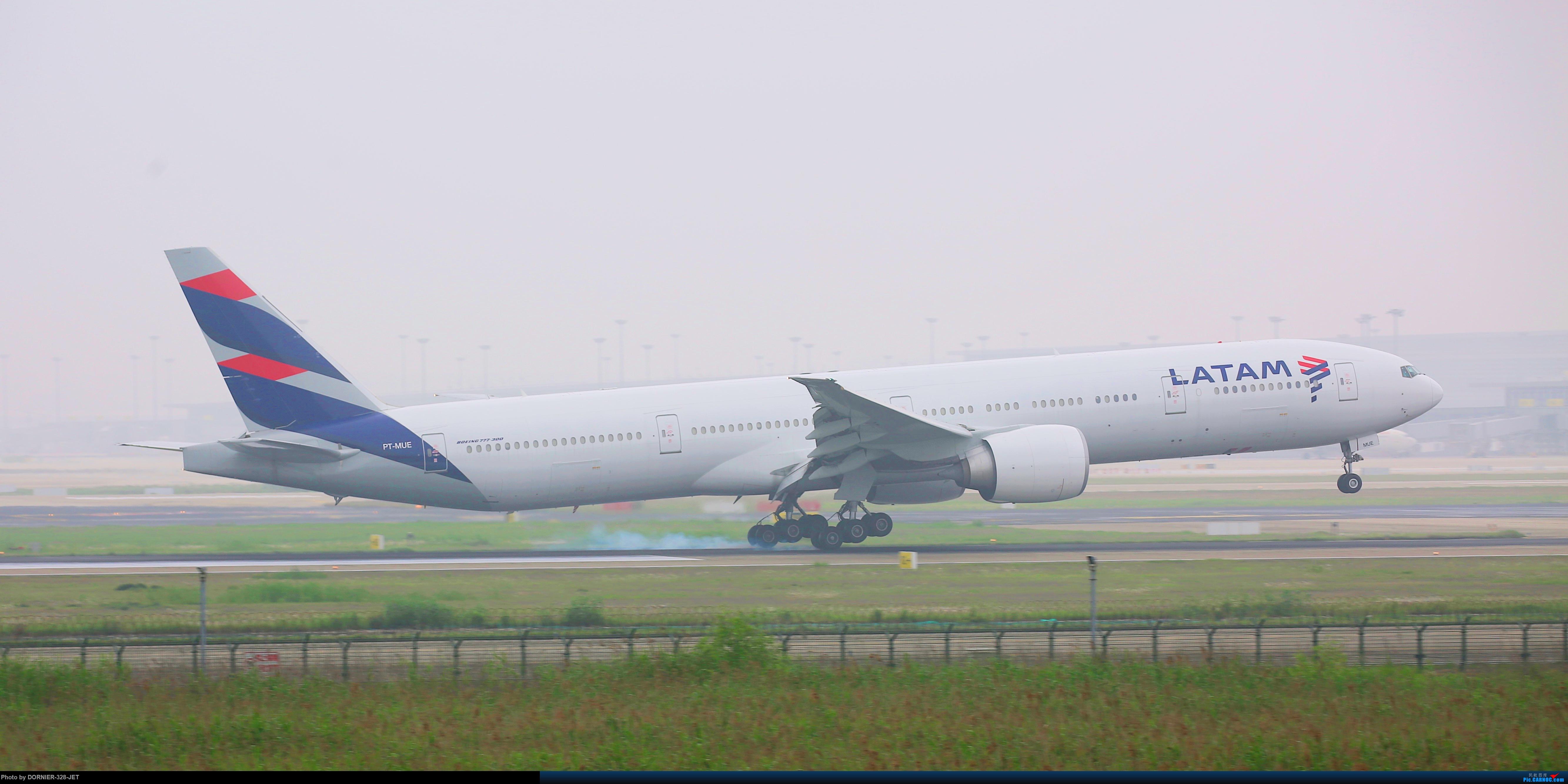 [原创]LATAM降落PVG BOEING 777-300ER