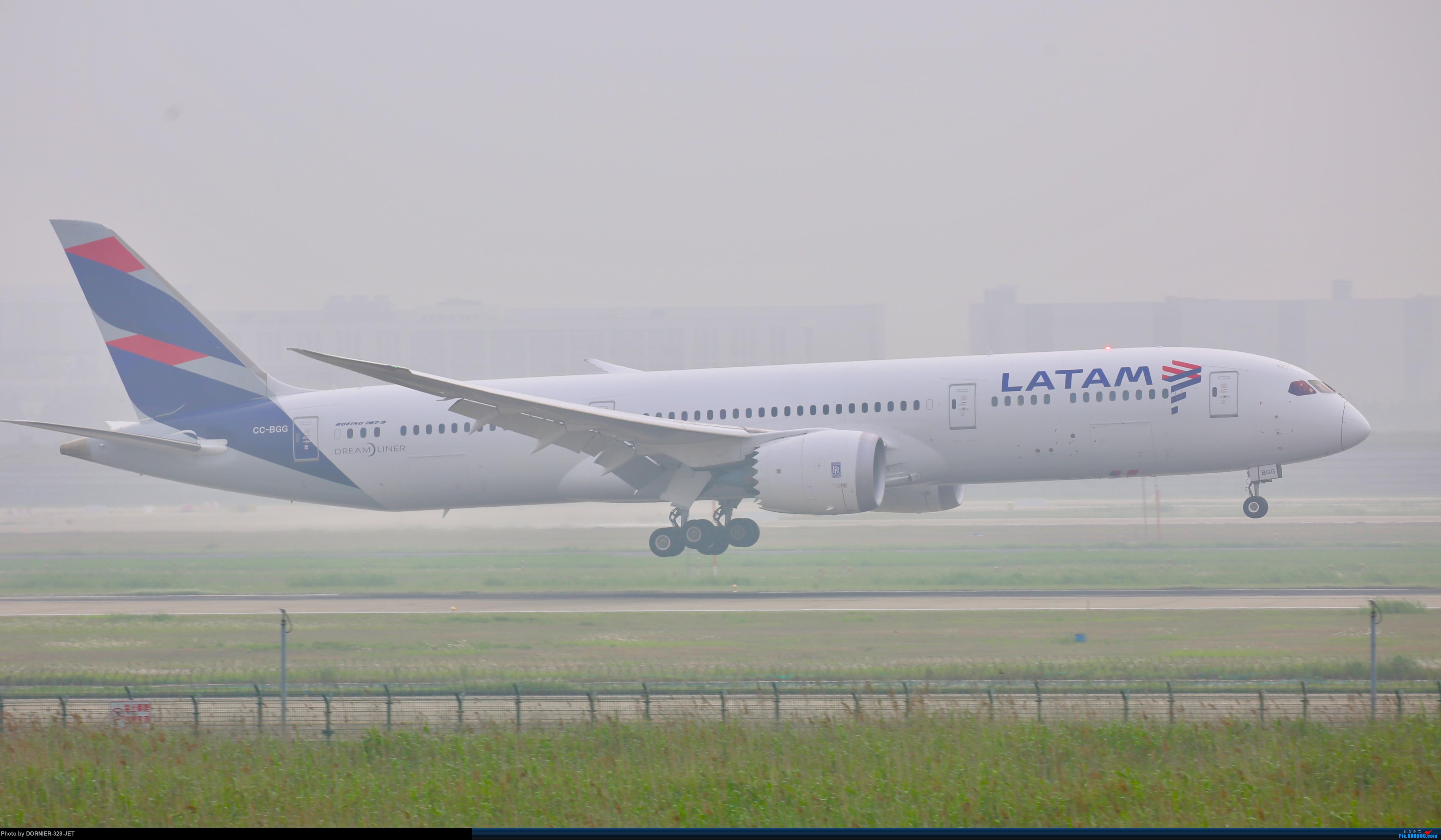 Re:[原创]LATAM降落PVG BOEING 787-9 CC-BGG