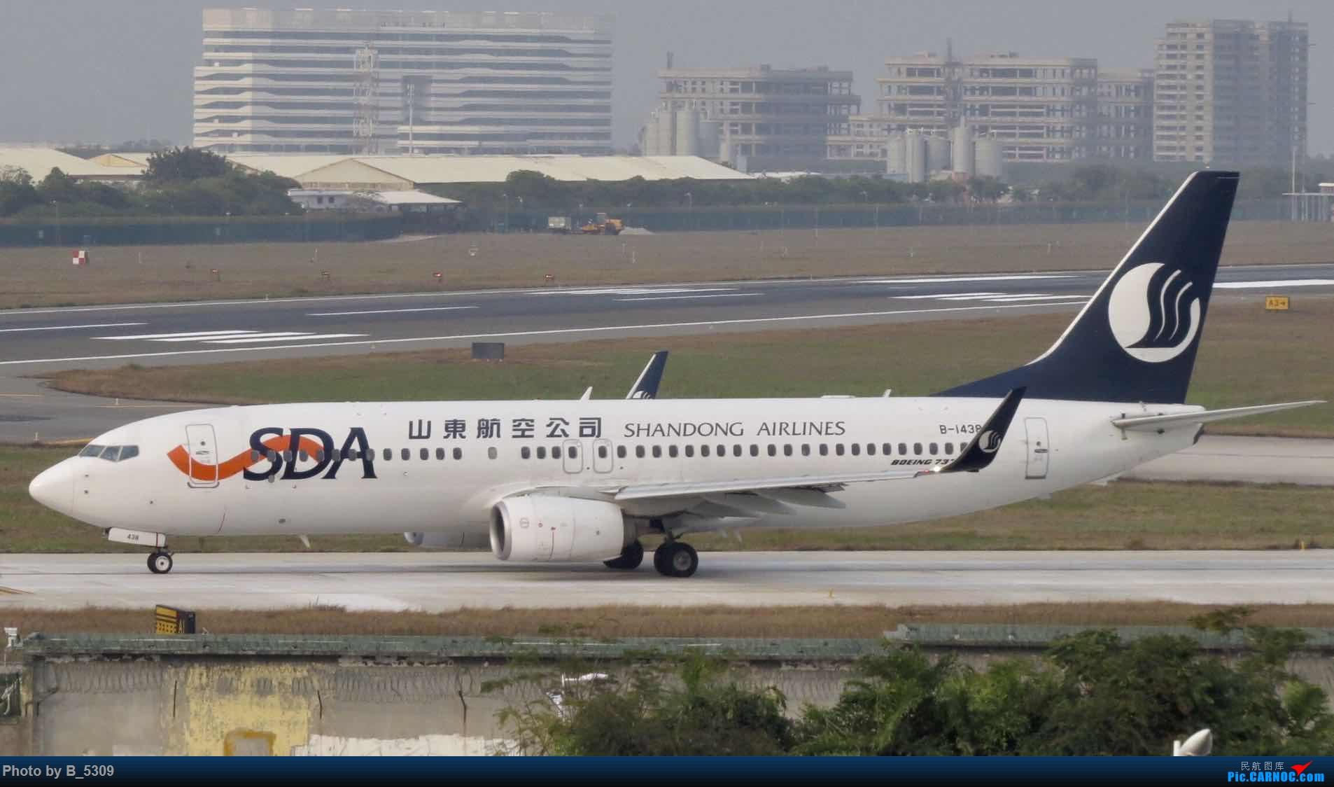 [原创]XMN特色视角 BOEING 737-800 B-1438 中国厦门高崎国际机场