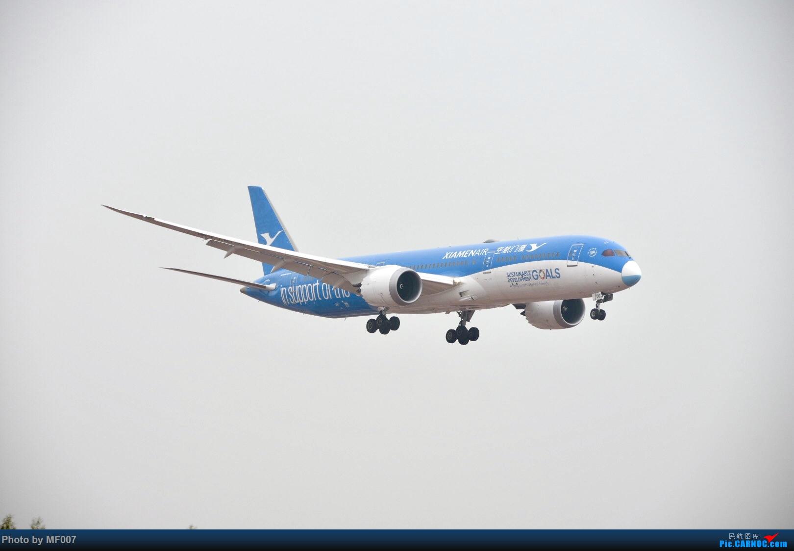 [原创]XMN-大雾天拍机 BOEING 787-9 B-1356 中国厦门高崎国际机场