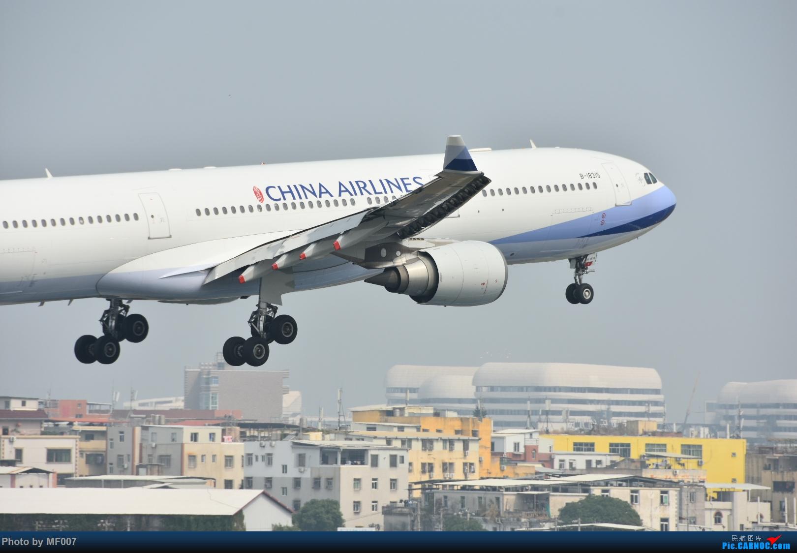 华航333 AIRBUS A330-300 B-18315 中国厦门高崎国际机场