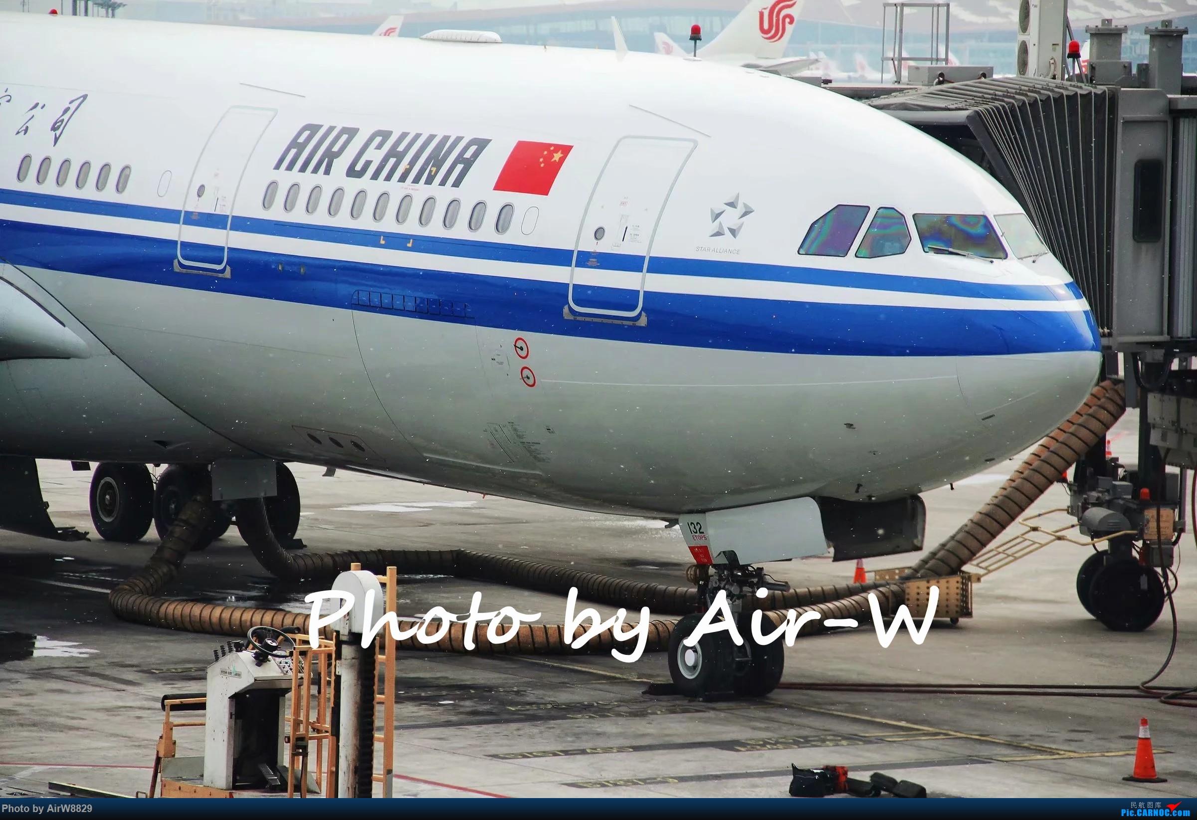 国航的330,19年的雪天 AIRBUS A330-200 B-6117 中国北京首都国际机场
