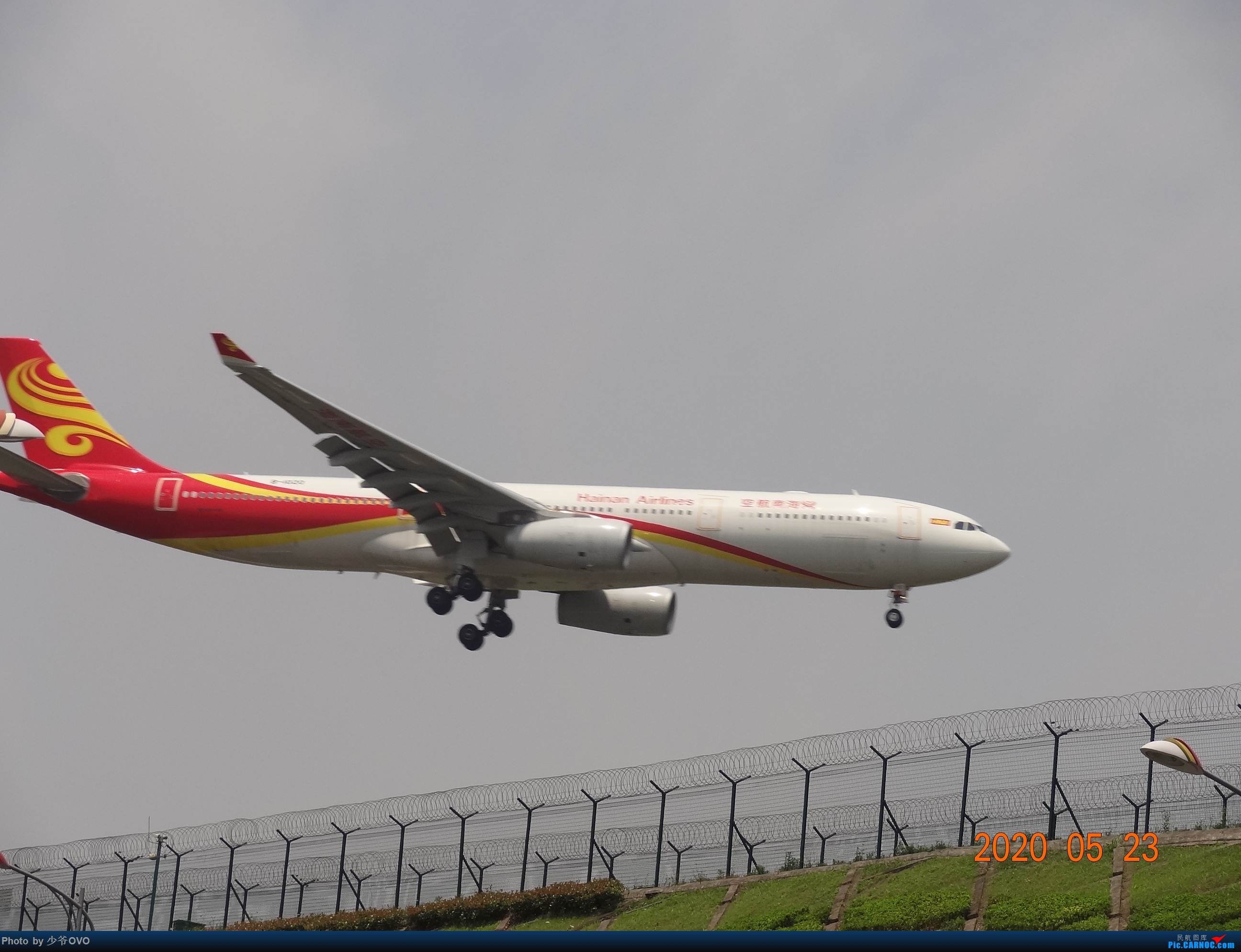 Re:[原创]CKG重庆江北机场拍机,爱CHINA77W AIRBUS A330-300 B-1021 重庆江北机场