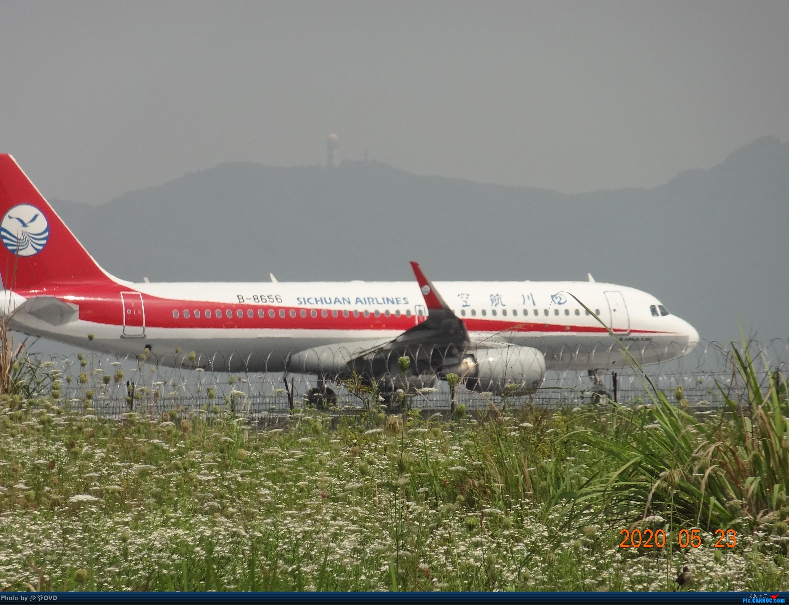 Re:[原创]CKG重庆江北机场拍机,爱CHINA77W AIRBUS A320-200 B-8656 重庆江北机场