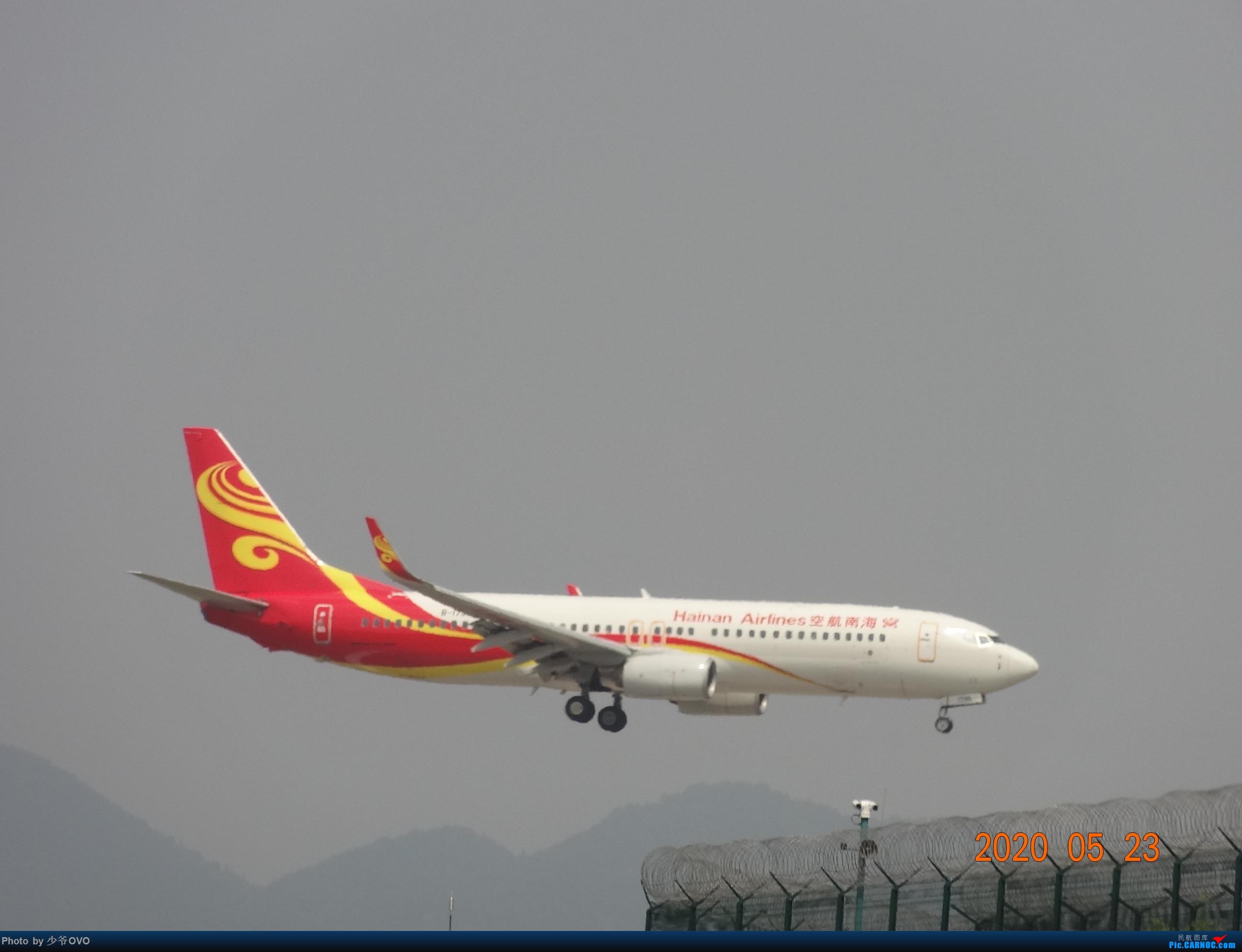 Re:[原创]CKG重庆江北机场拍机,爱CHINA77W(2) BOEING 737-800  重庆江北机场