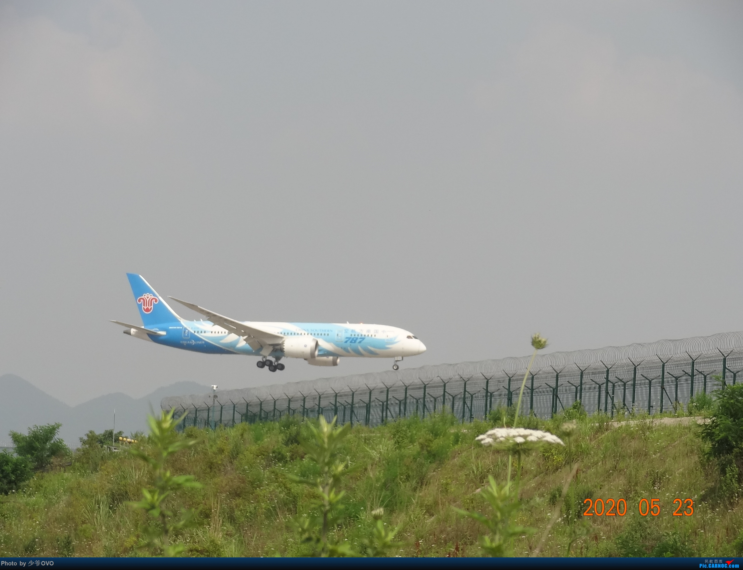 Re:[原创]CKG重庆江北机场拍机,爱CHINA77W BOEING 787-8