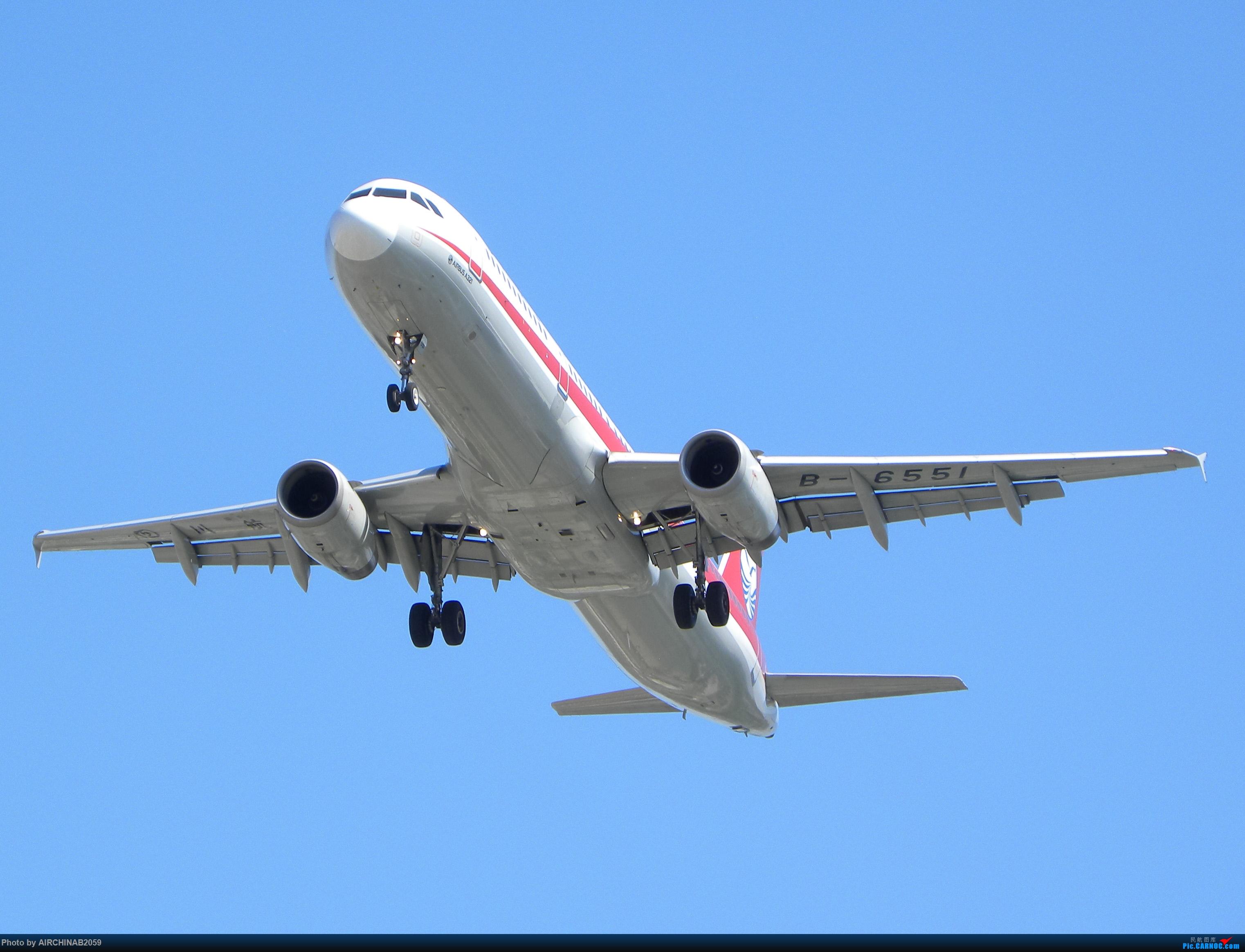 [原创]四川航空A321-200 B-6551 AIRBUS A321-200 B-6551 中国天津滨海国际机场