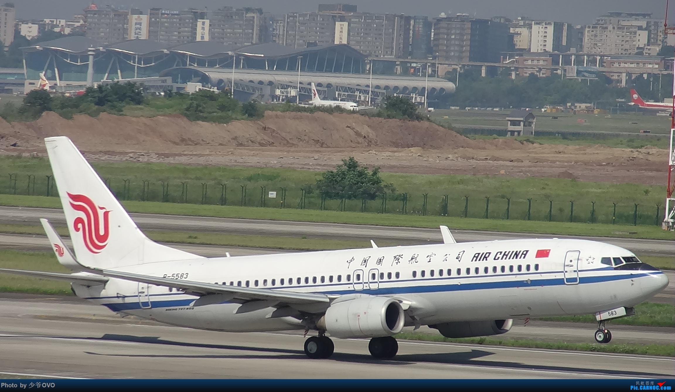 Re:[原创]Re:[原创]CKG重庆江北机场拍机.星空联盟77W BOEING 737-800 B-5583 重庆江北机场