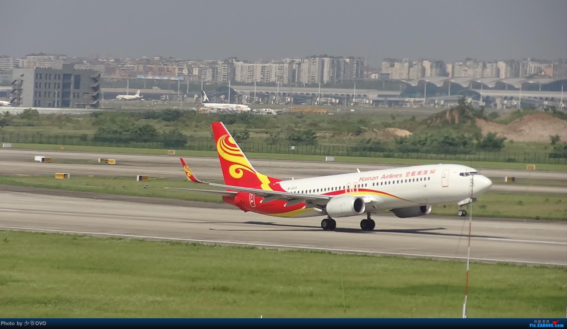 Re:[原创]Re:[原创]CKG重庆江北机场拍机.星空联盟77W BOEING 737-800 B-1213 重庆江北机场