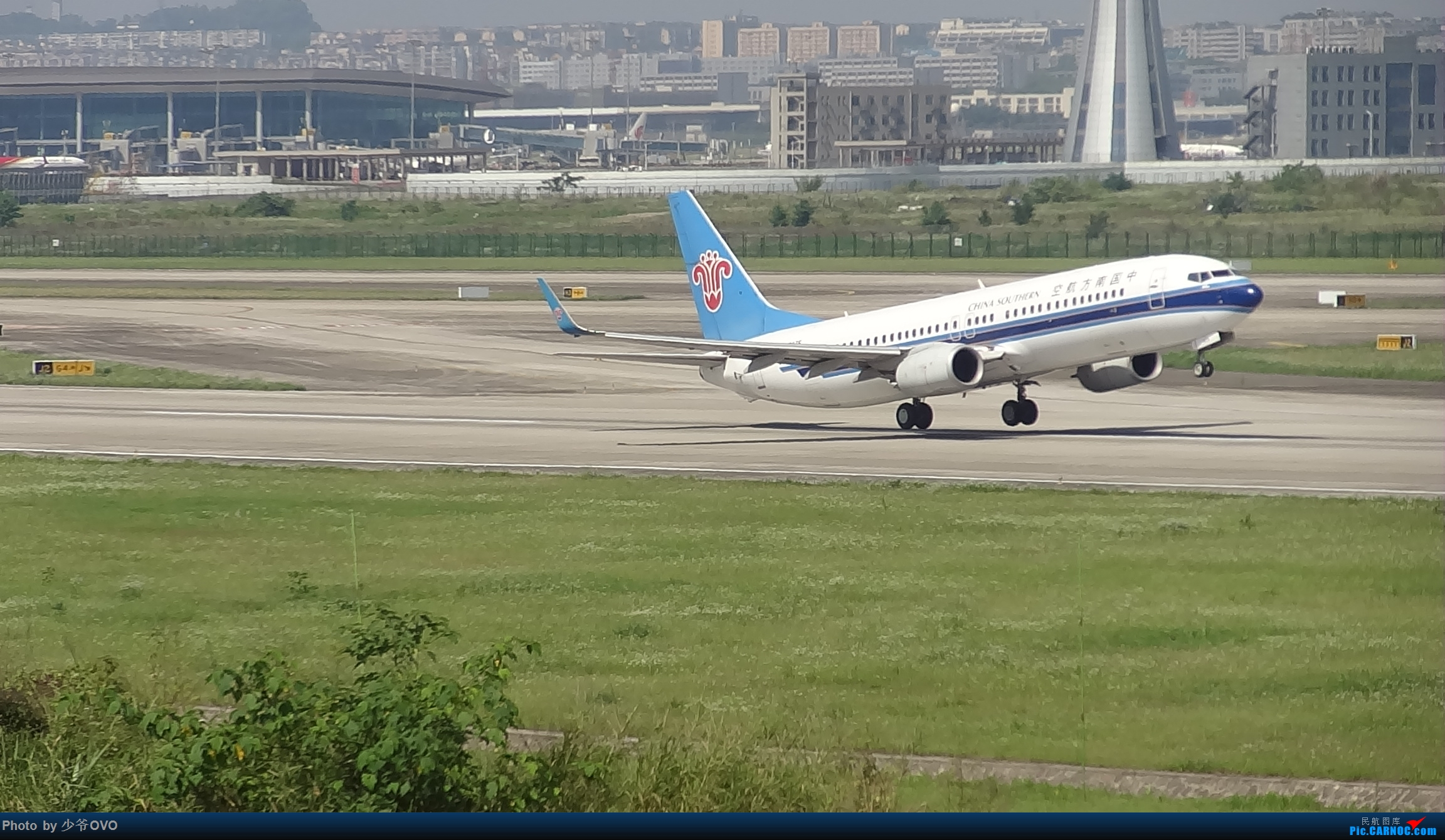Re:[原创]Re:[原创]CKG重庆江北机场拍机.星空联盟77W BOEING 737-800 B-5675 重庆江北机场
