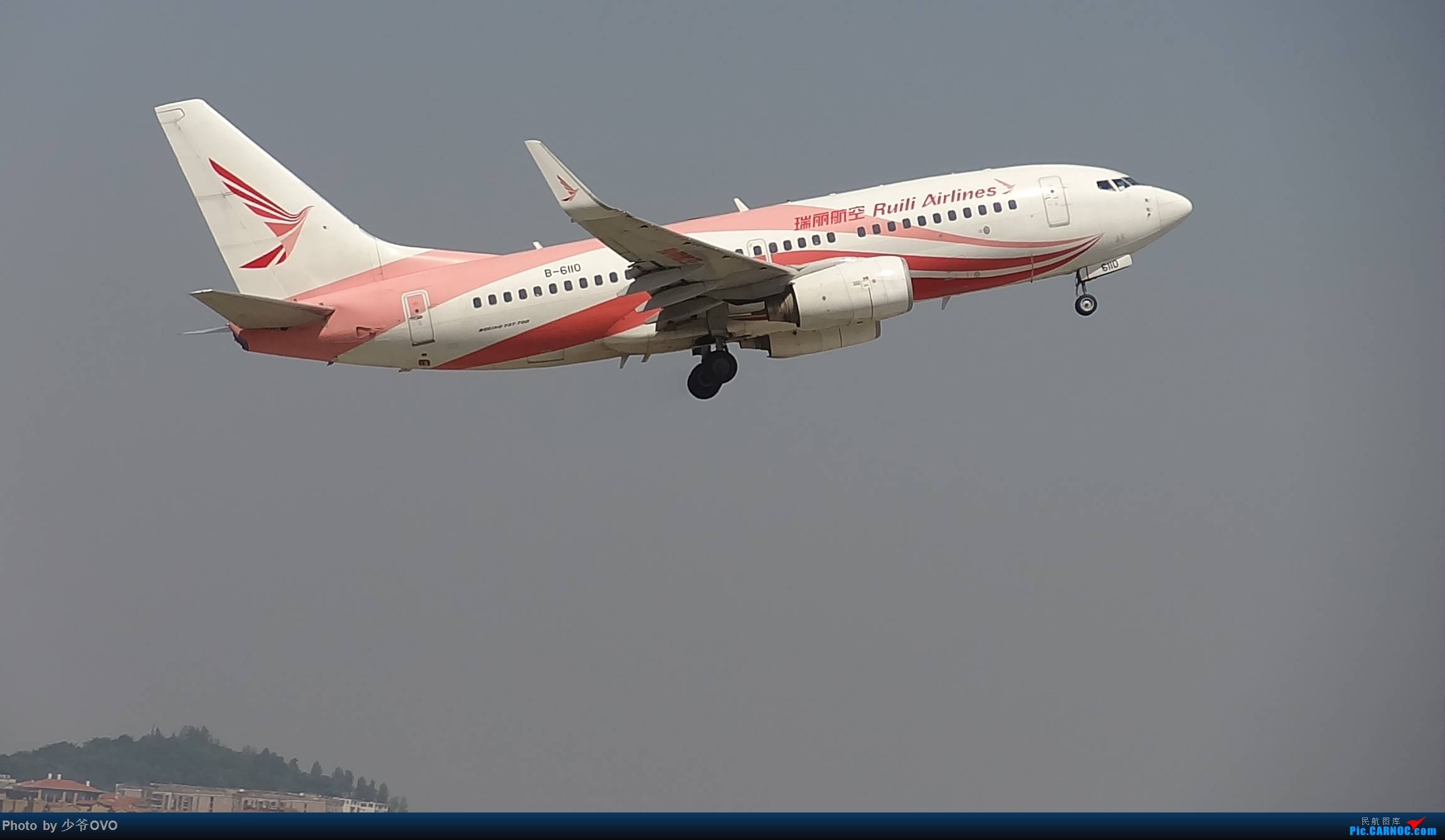 Re:[原创]Re:[原创]CKG重庆江北机场拍机.星空联盟77W BOEING 737-700 B-6110 重庆江北机场