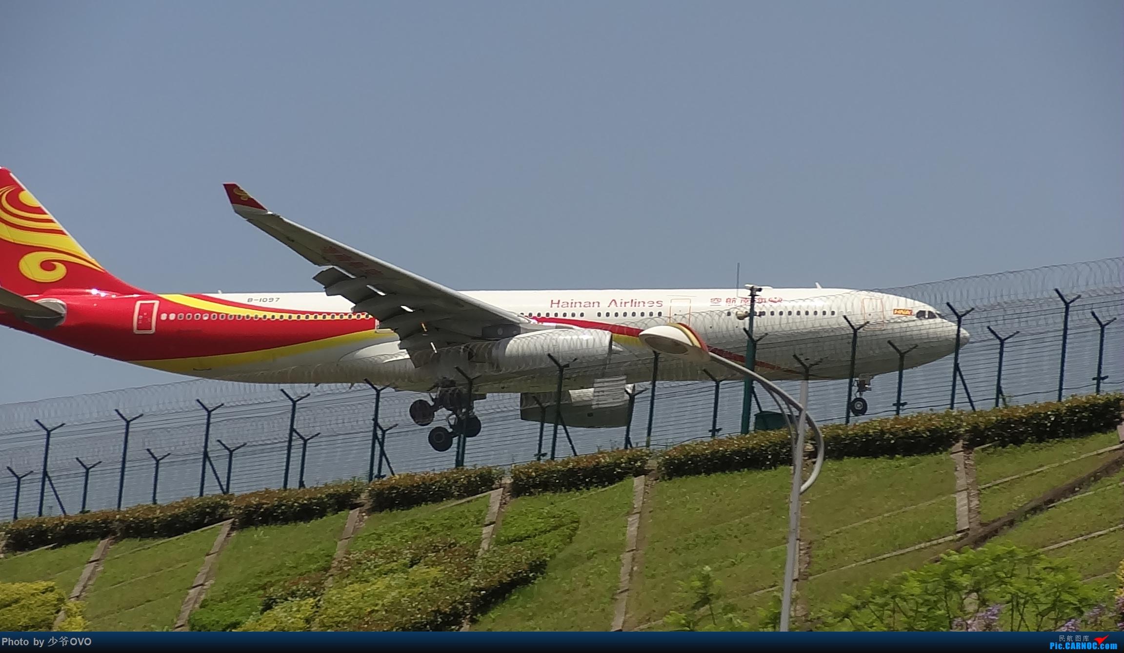 Re:[原创]Re:[原创]CKG重庆江北机场拍机,国航星空77W(3) AIRBUS A330-300 B-1097 重庆江北机场