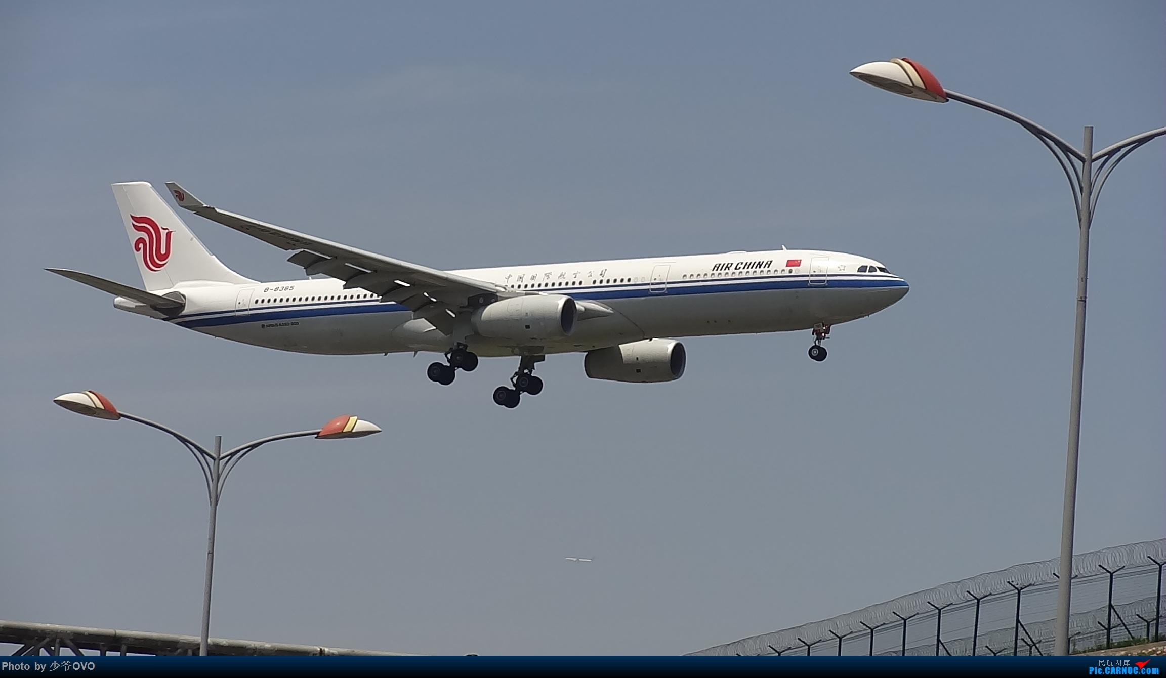 Re:[原创]Re:[原创]CKG重庆江北机场拍机,国航星空77W(3) AIRBUS A330-300 B-8385 重庆江北机场