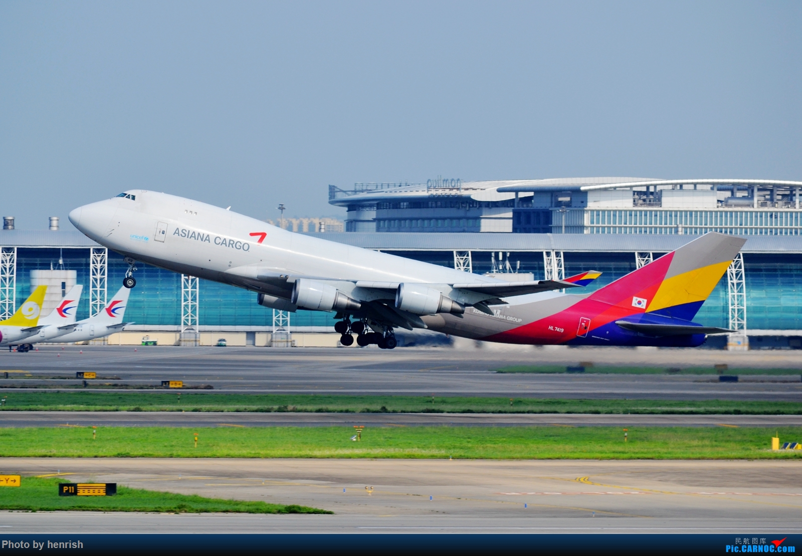 Re:[原创]【肥威的CAN】5月后半,雨季期间广州好货若干。【 广东青少年拍机小队】【广州,你好!】 BOEING 747-400F HL7419 中国广州白云国际机场