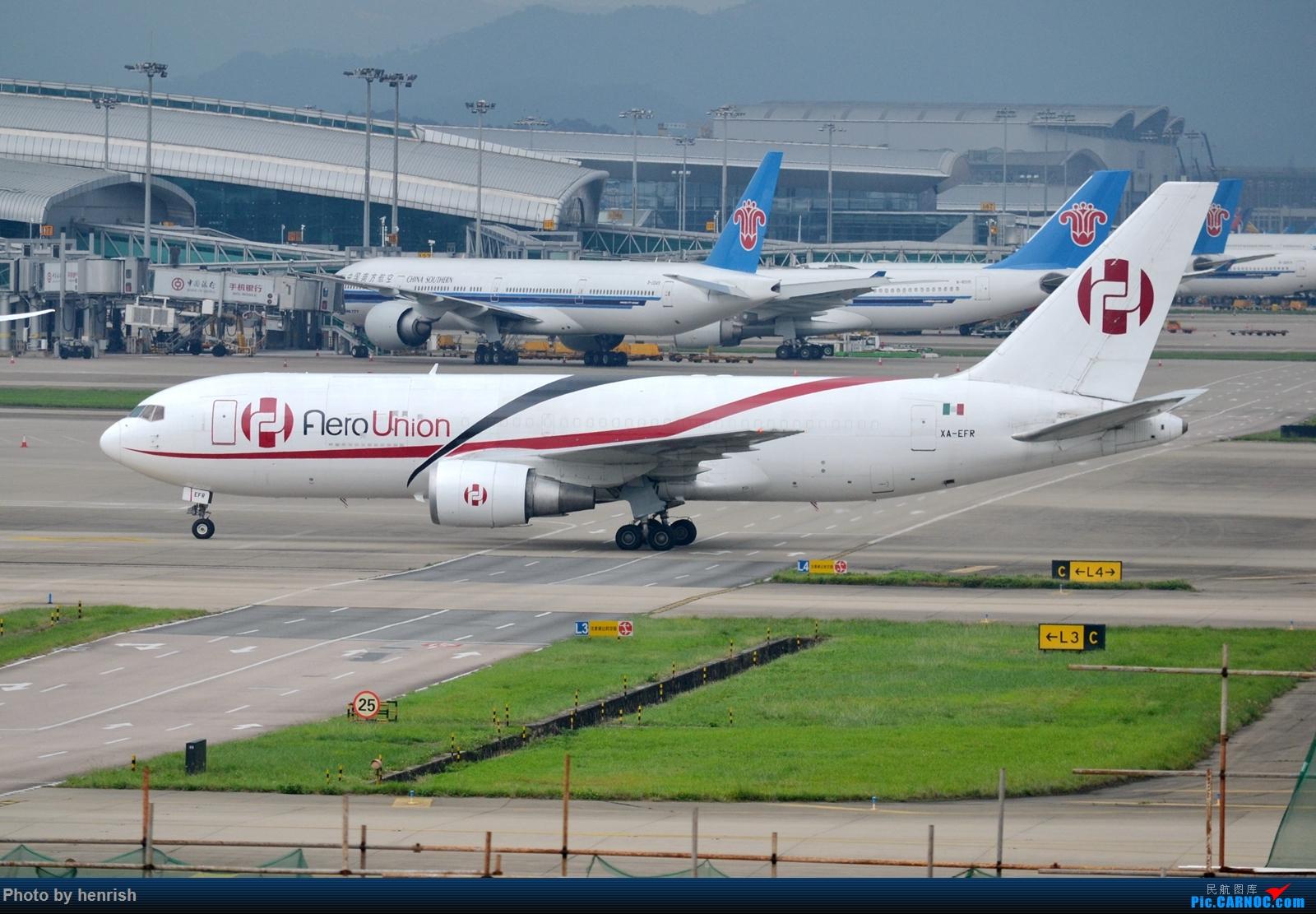 Re:[原创]【肥威的CAN】5月后半,雨季期间广州好货若干。【 广东青少年拍机小队】【广州,你好!】 BOEING 767-200ERF XA-EFR 中国广州白云国际机场
