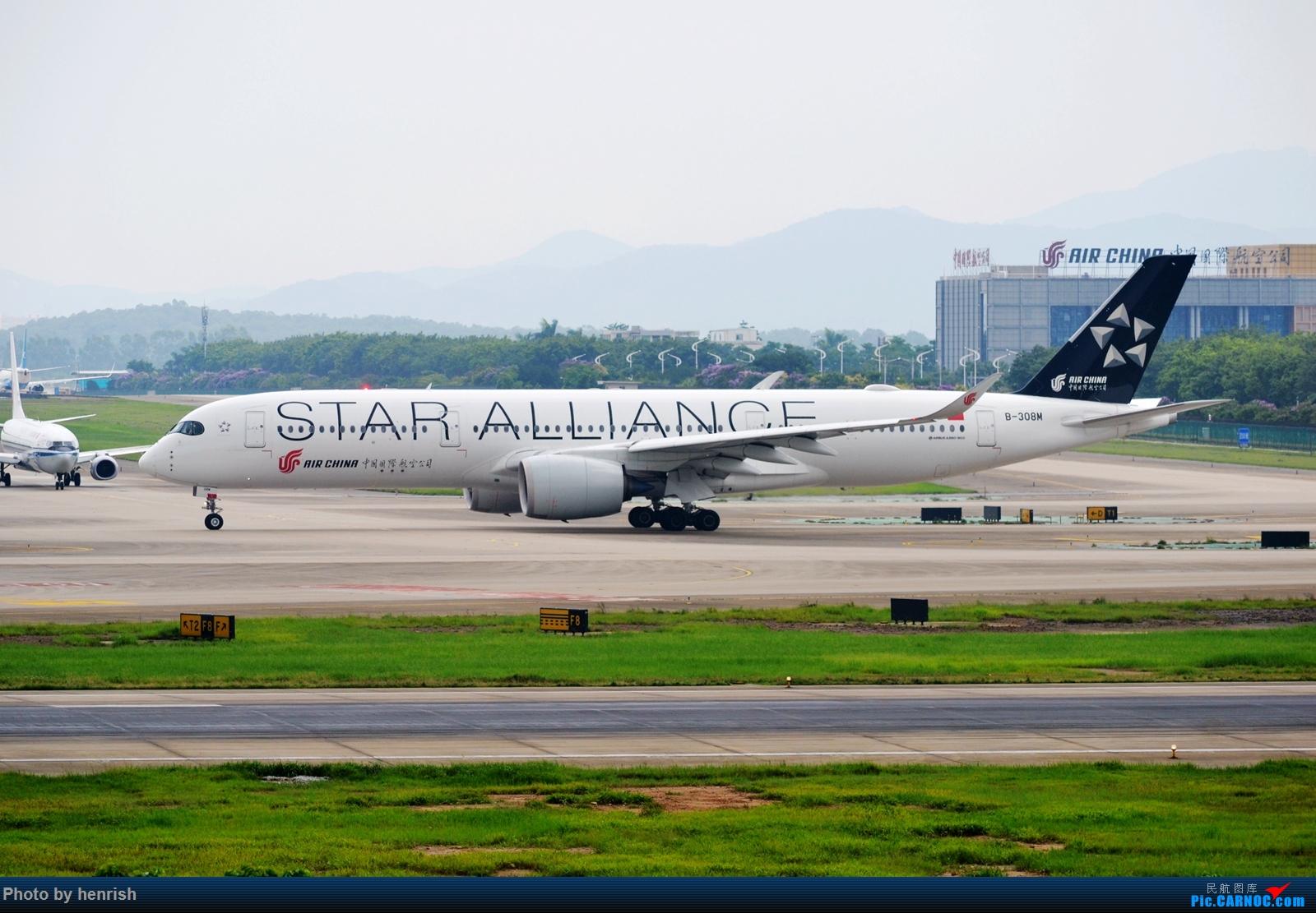 Re:[原创]【肥威的CAN】5月后半,雨季期间广州好货若干。【 广东青少年拍机小队】【广州,你好!】 AIRBUS A350-900 B-308M 中国广州白云国际机场